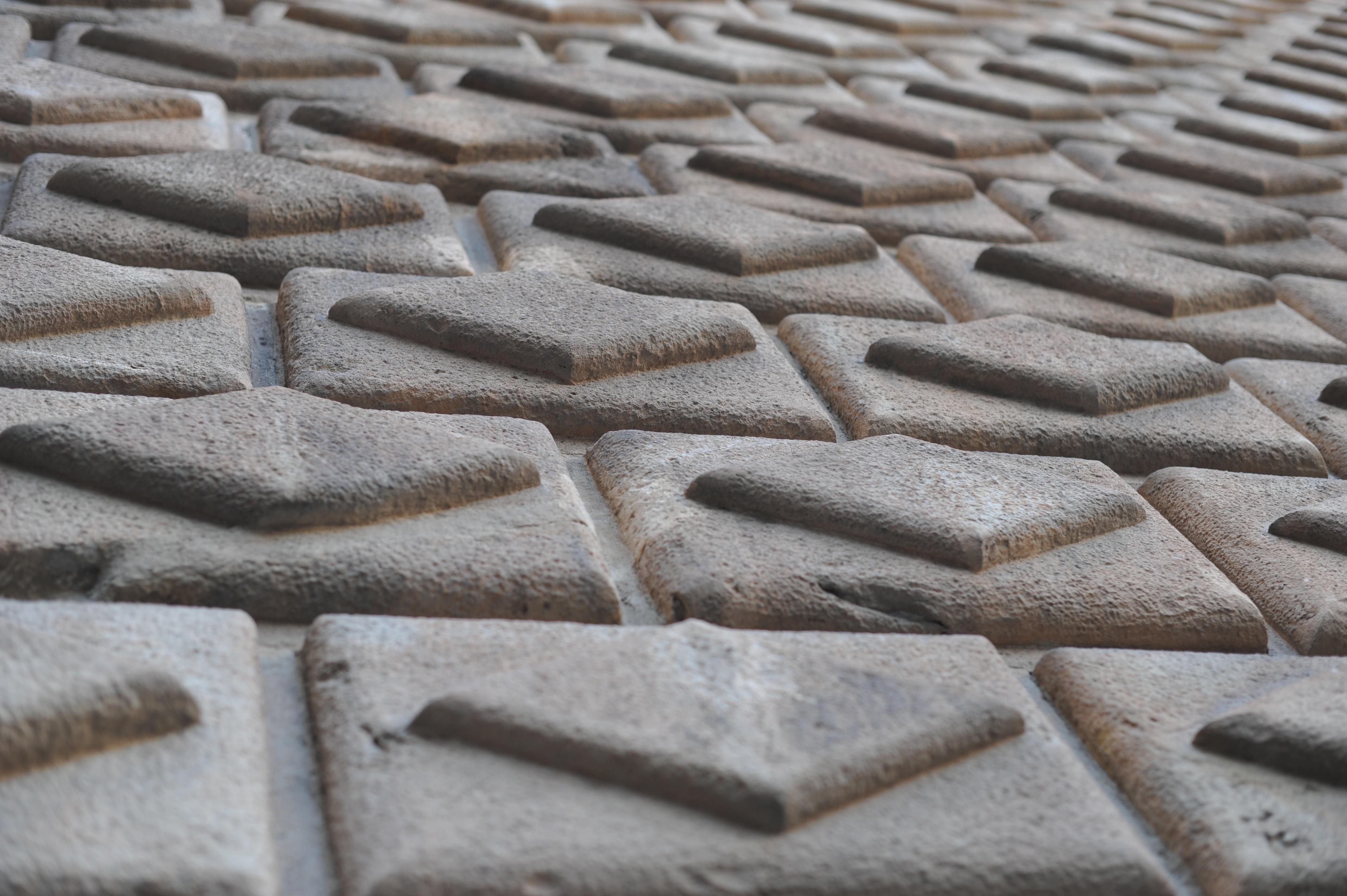 Sand Texture Floor Cobblestone Wall Monument Pattern Line Facade Church Barcelona Material Circle Art Design Carpet