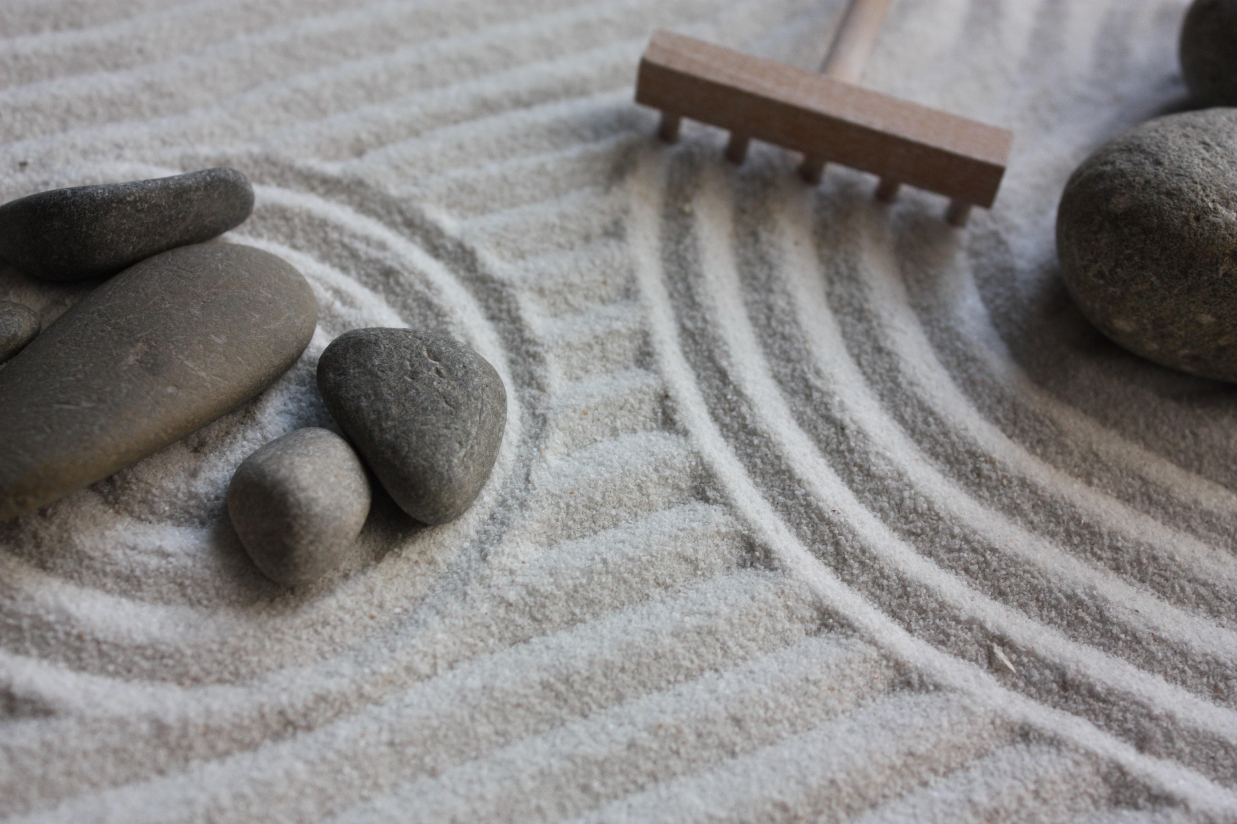Fotos gratis arena madera piso jard n jap n - Arena jardin zen ...