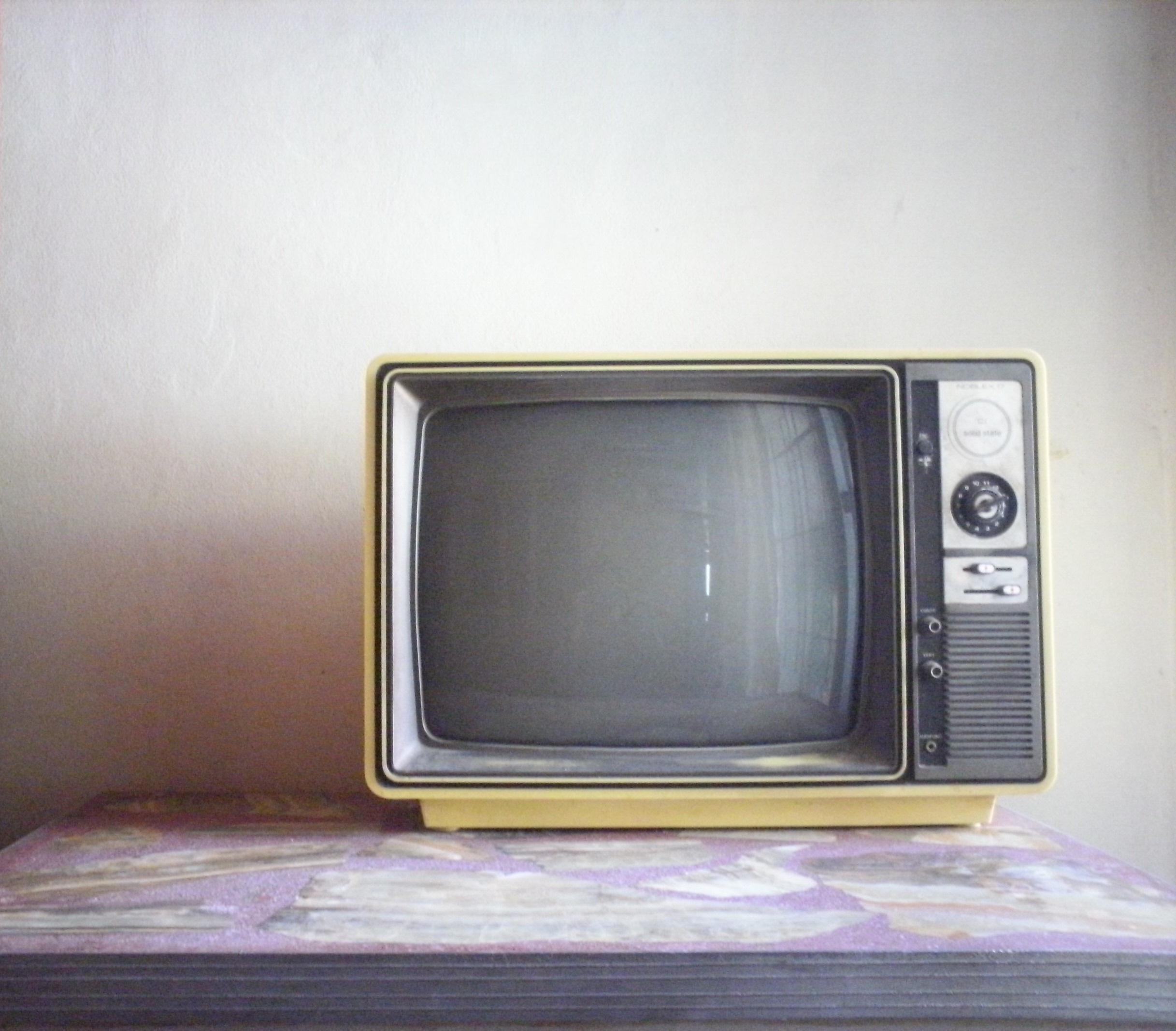 Alte Fernseher