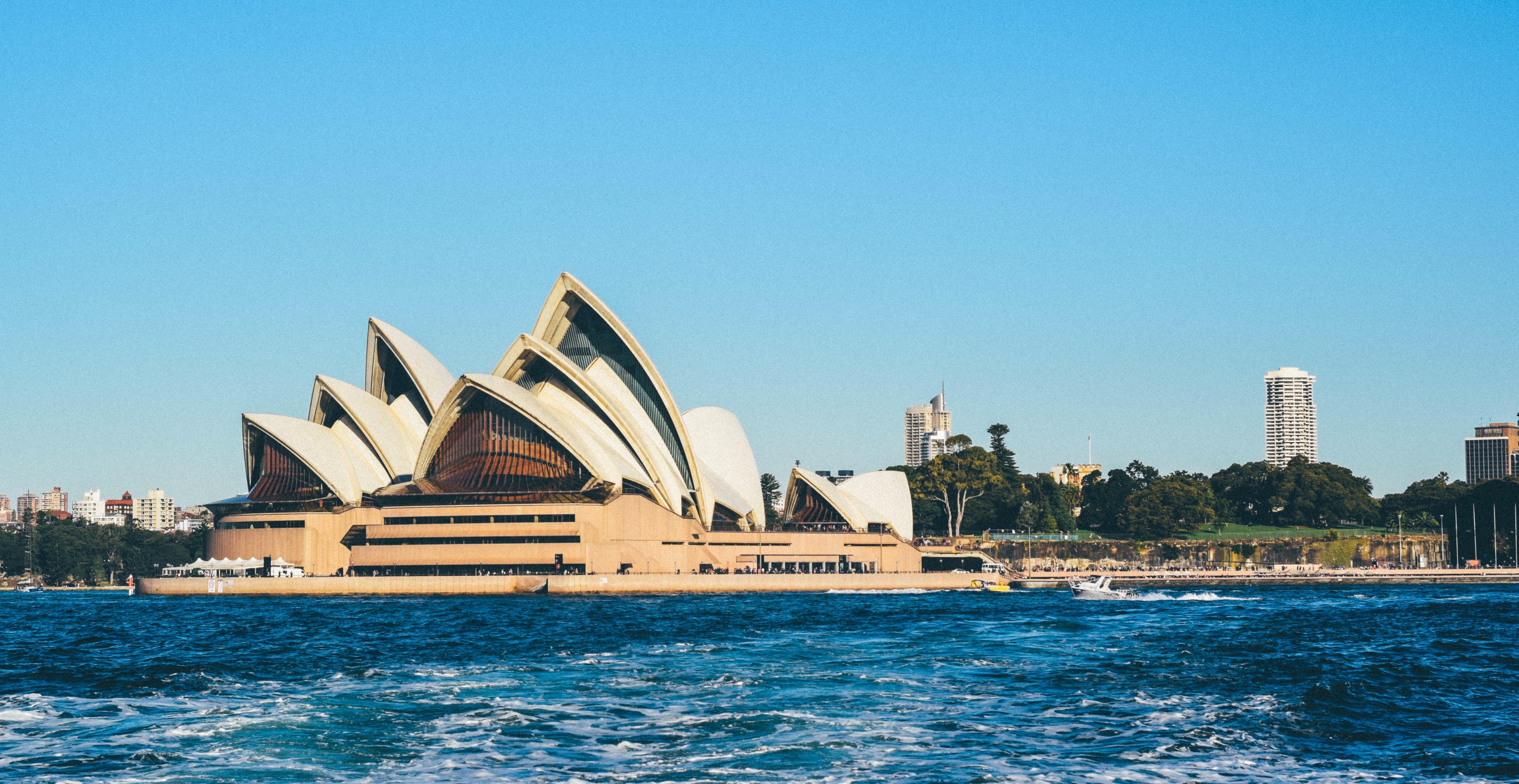 Sea Architecture Vacation Vehicle Sydney Opera House Landmark Harbor Harbour Tourism Australia Resort Culture Famous