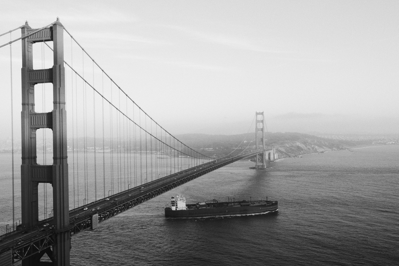 Фотографии мостов черно белые высокого разрешения