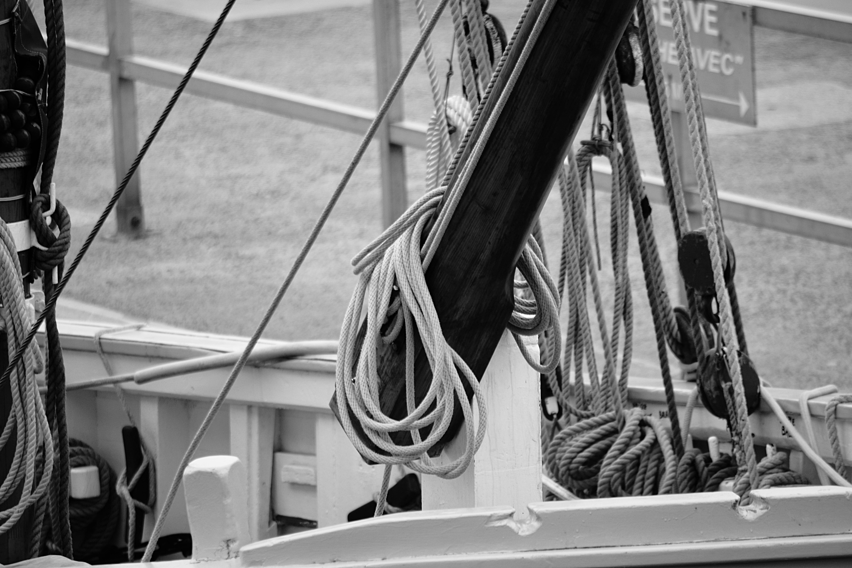 Images gratuites mer noir et blanc bois bateau la - Photo de voilier gratuite ...