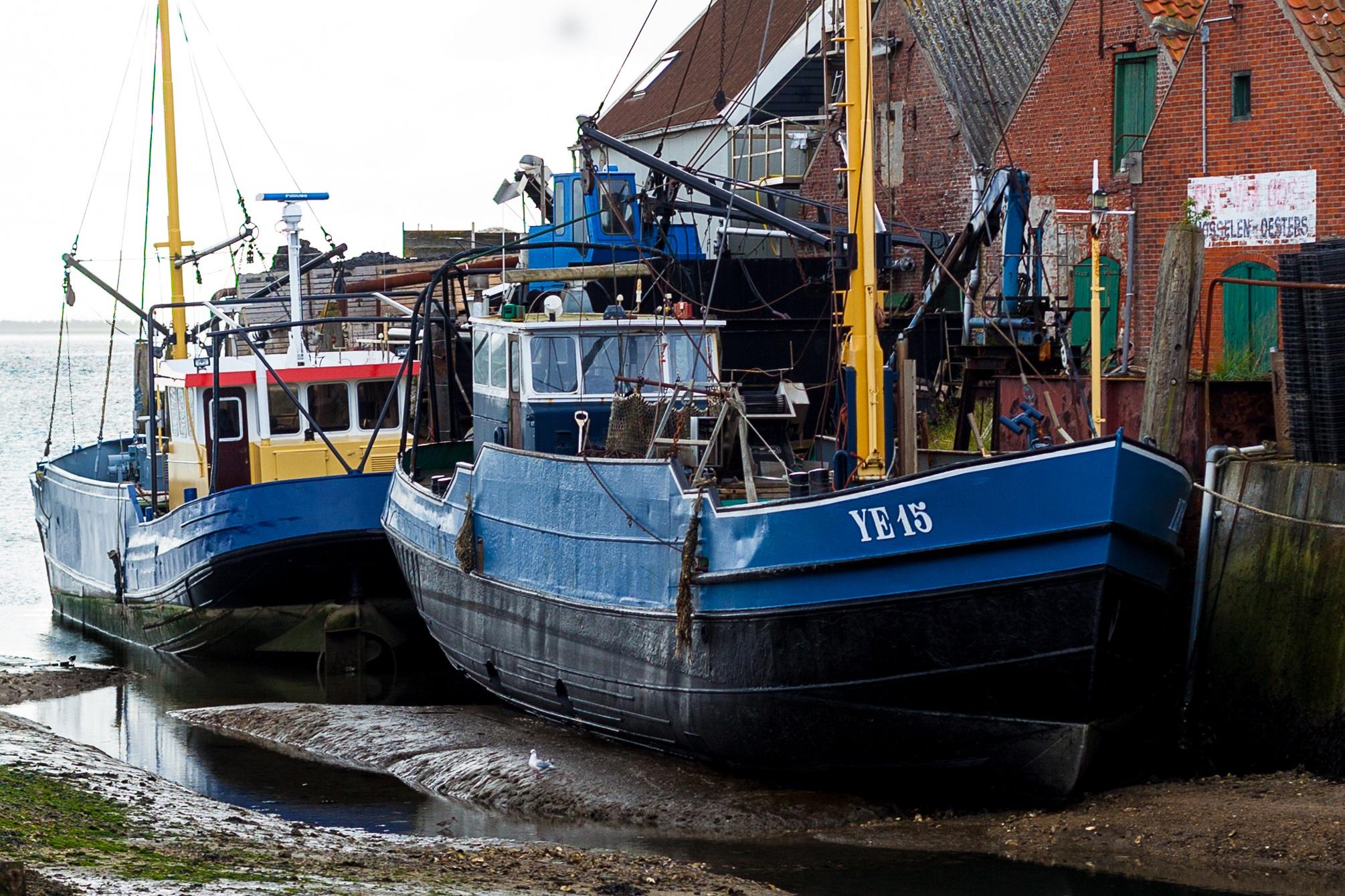 bateau de peche hollande
