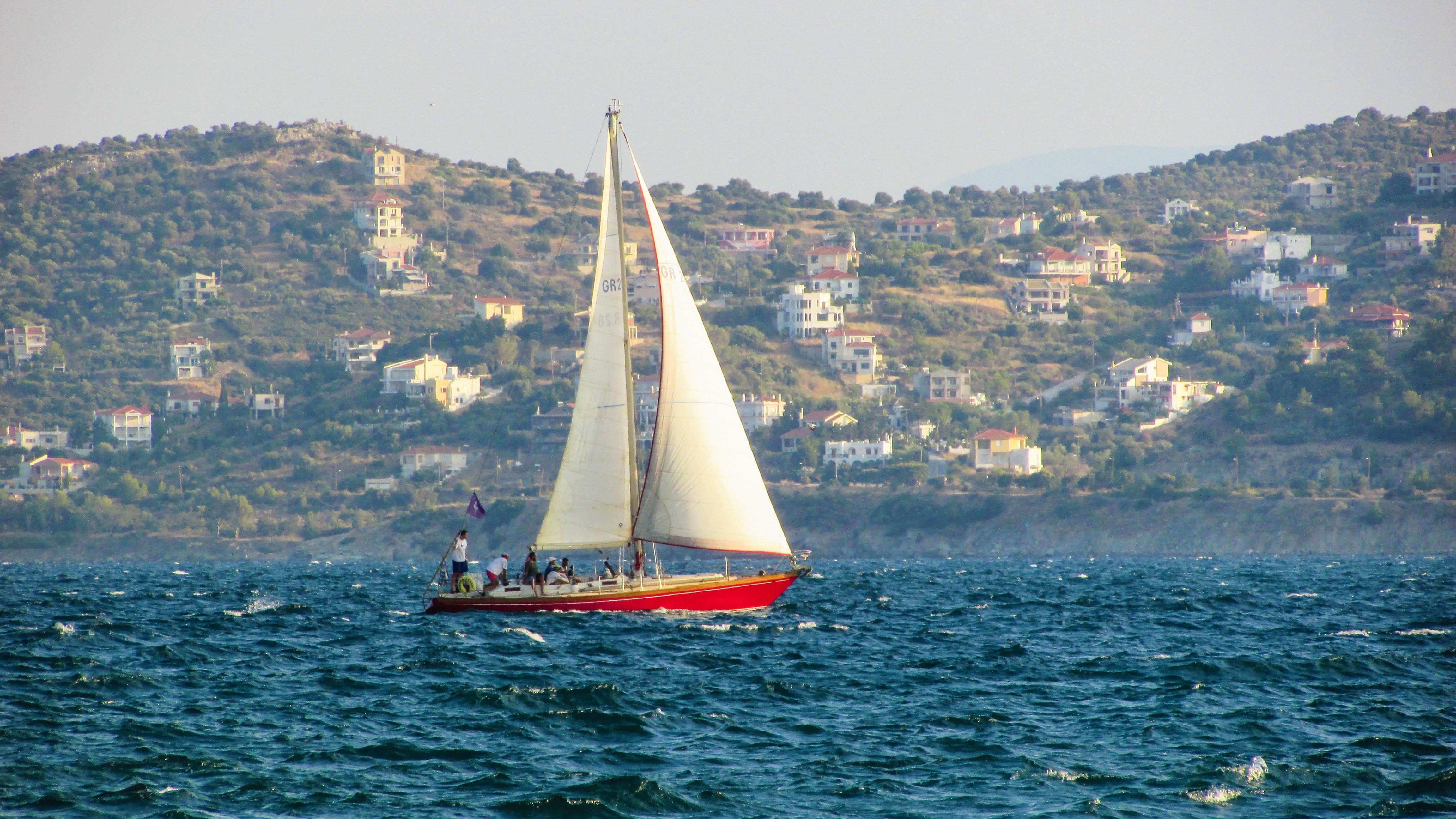 Segelschiffe auf dem meer  Kostenlose foto : Meer, Boot, Wind, Schiff, Sommer-, Erholung ...
