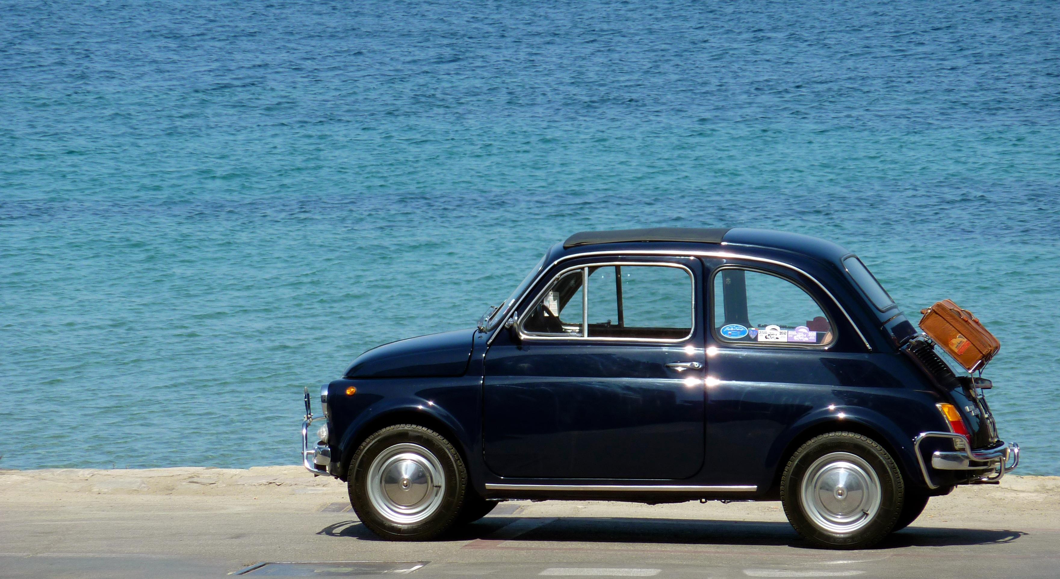 Kostenlose foto : Meer, Rad, alt, Fahrzeug, Park, Italien, blau ...