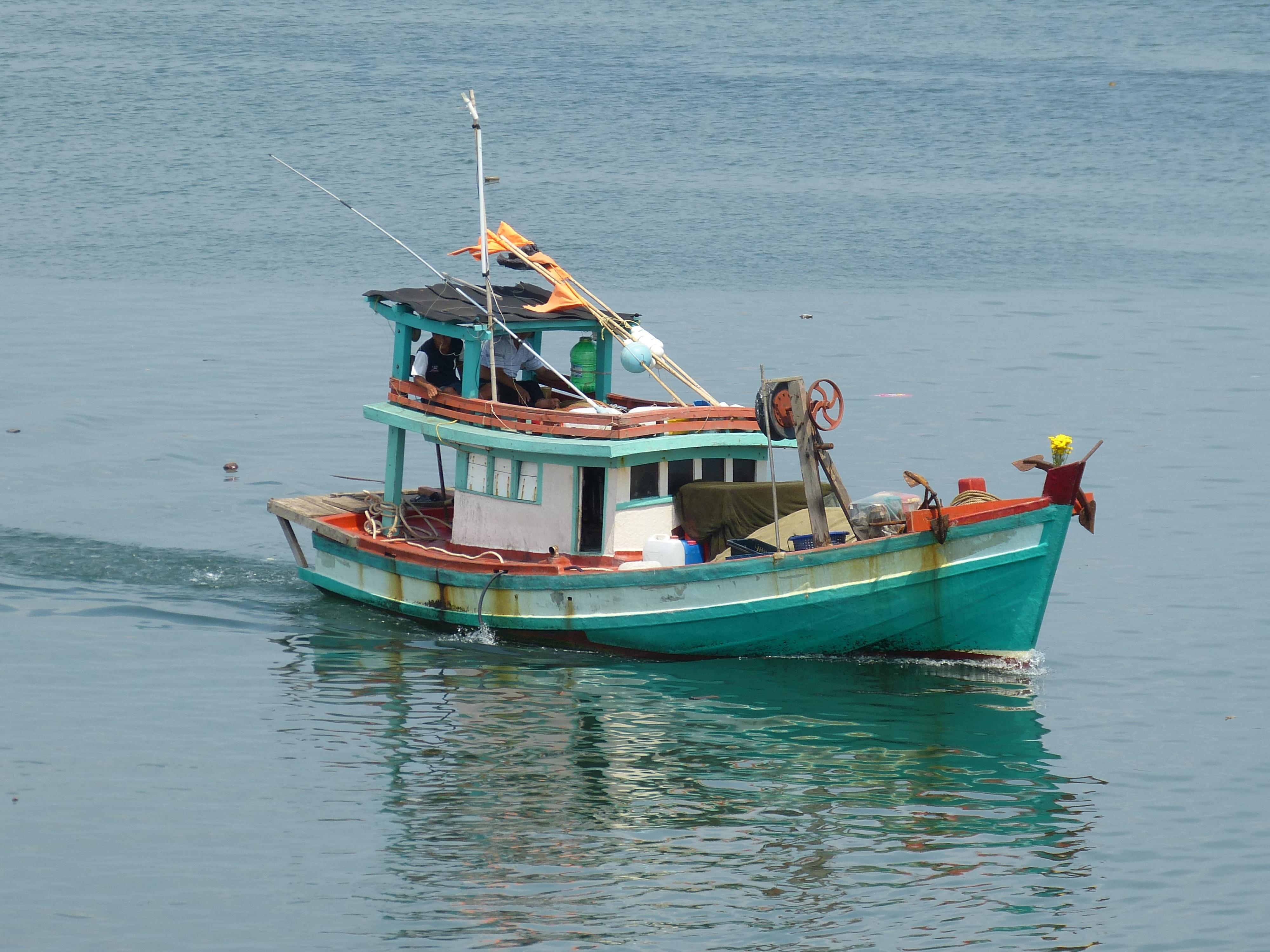 Free images sea coast ship vehicle bay port for Free fishing boats