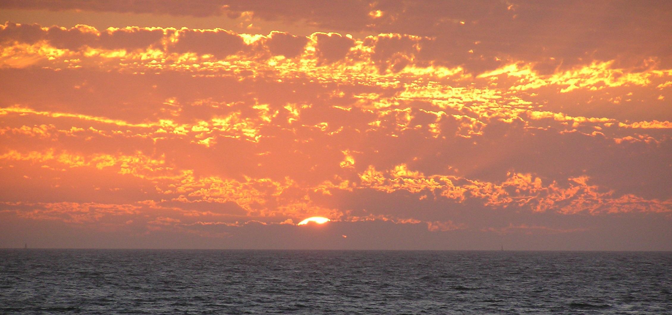821f65bb2d sea coast ocean horizon cloud sky sun sunrise sunset dawn dusk evening  orange seascape australia clouds