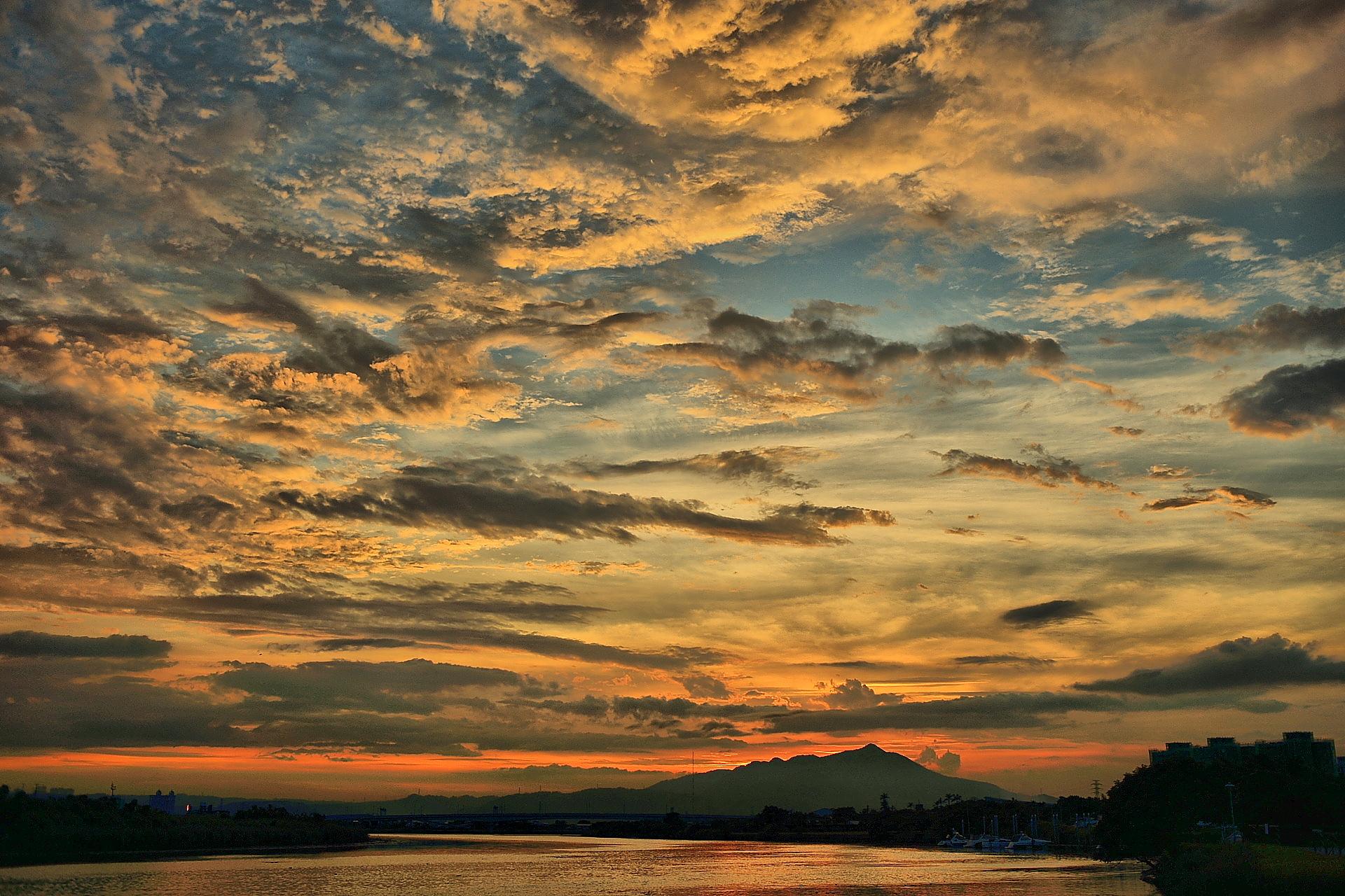 Закат небо фото в высоком качестве часам лучше