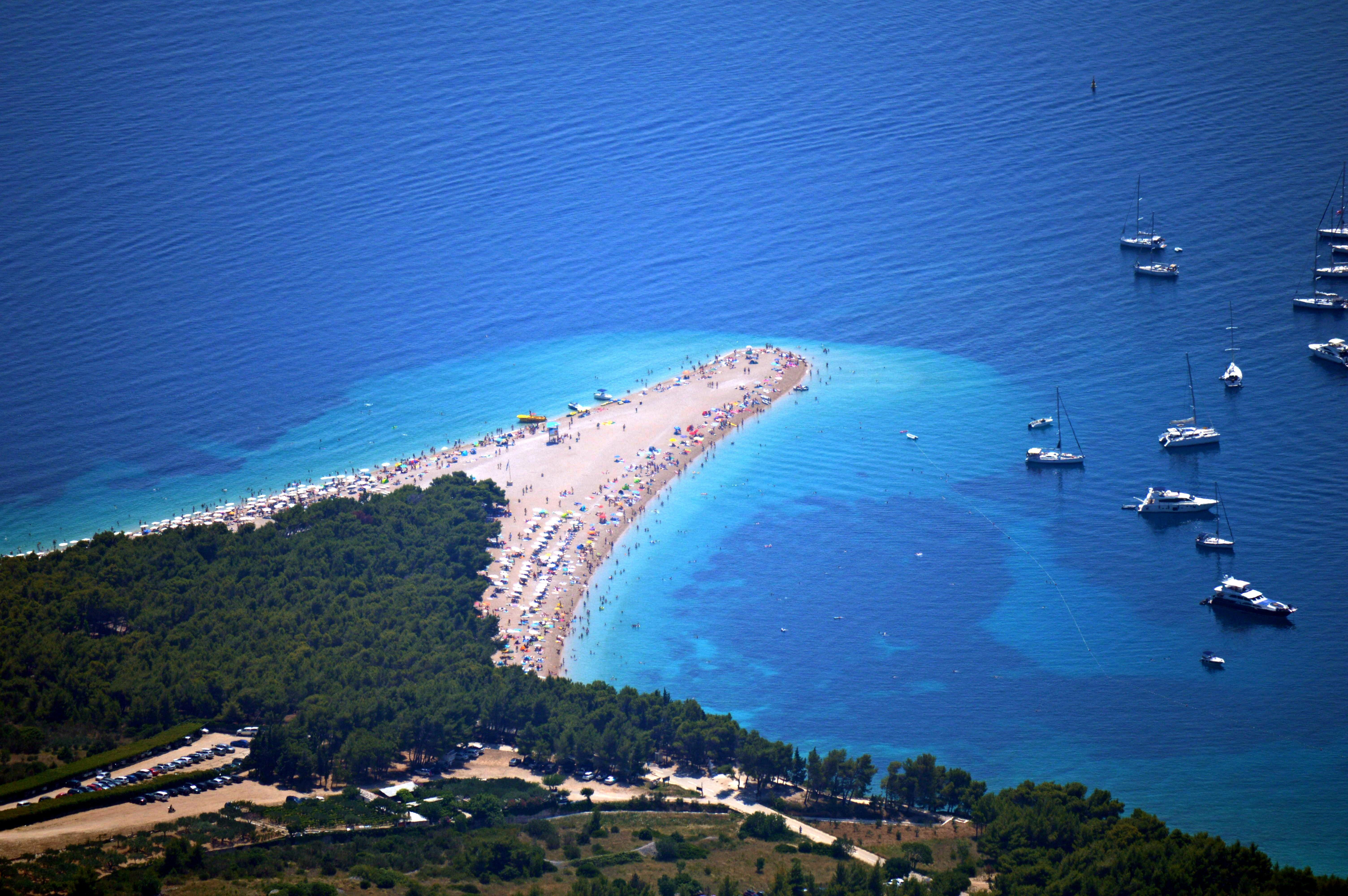 Дикие пляжи хорватии фото