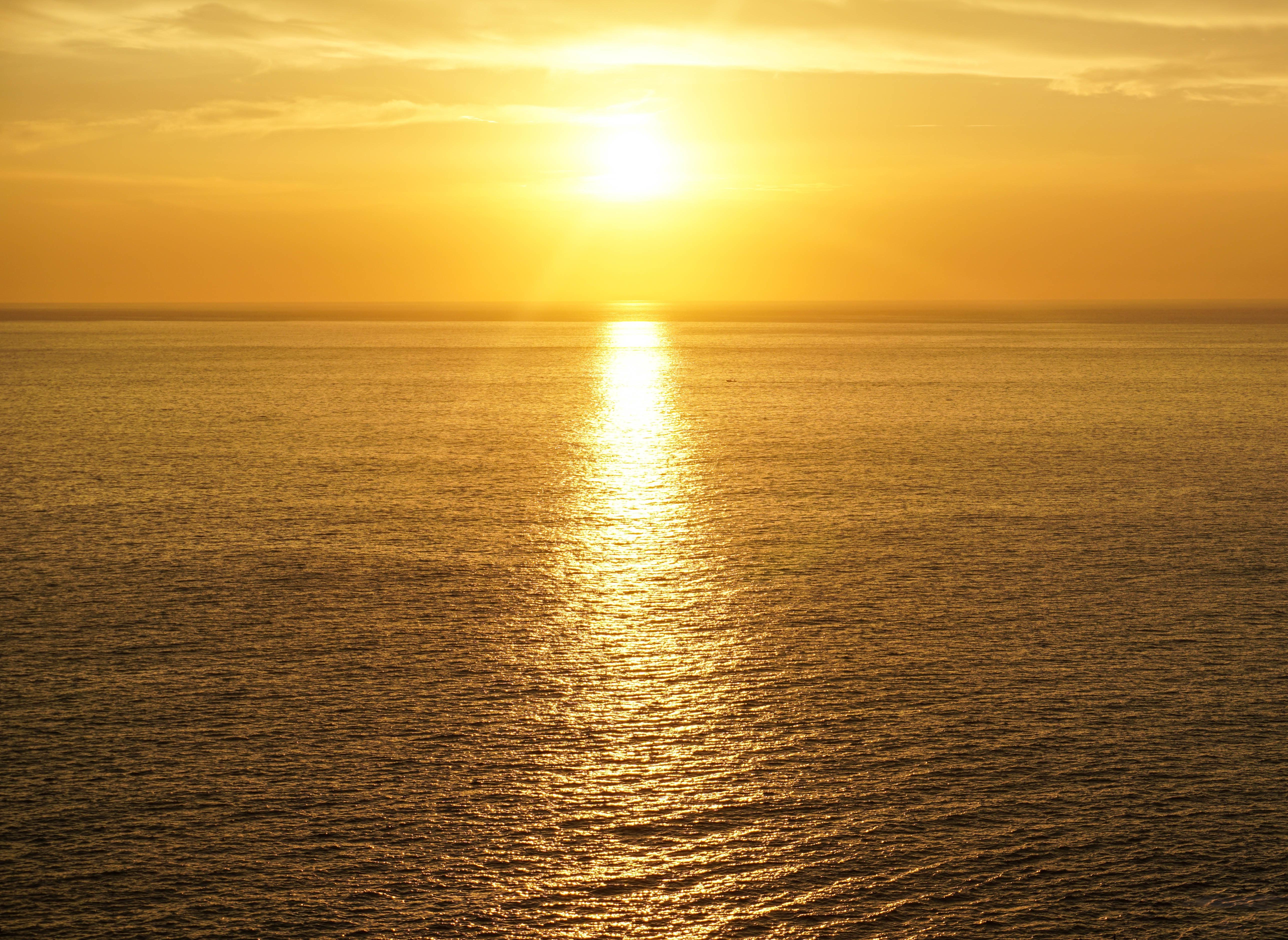 Картинка восход солнца на море, днем рождения
