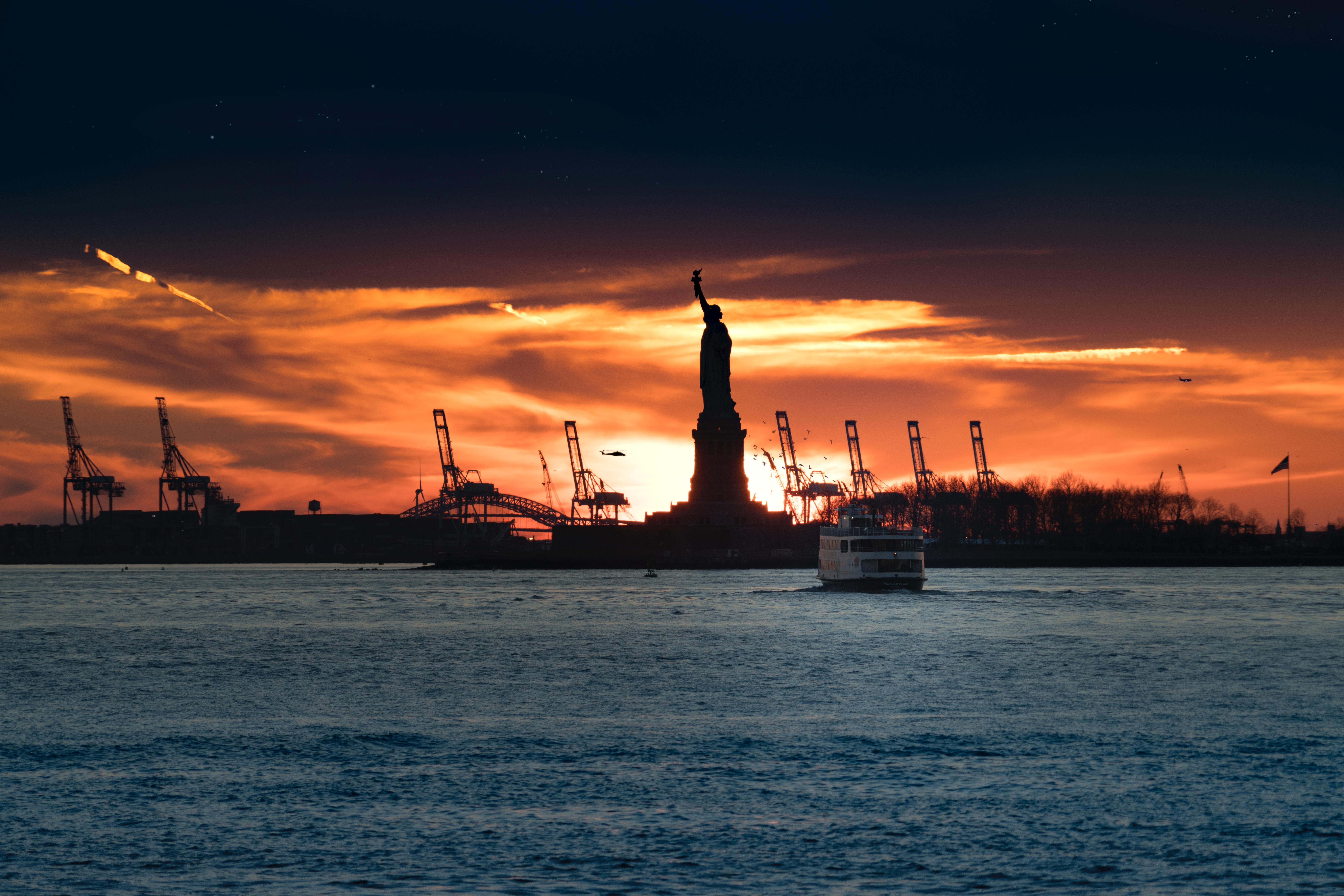 Segelschiffe auf dem meer sonnenuntergang  Kostenlose foto : Meer, Küste, Ozean, Horizont, Sonnenaufgang ...