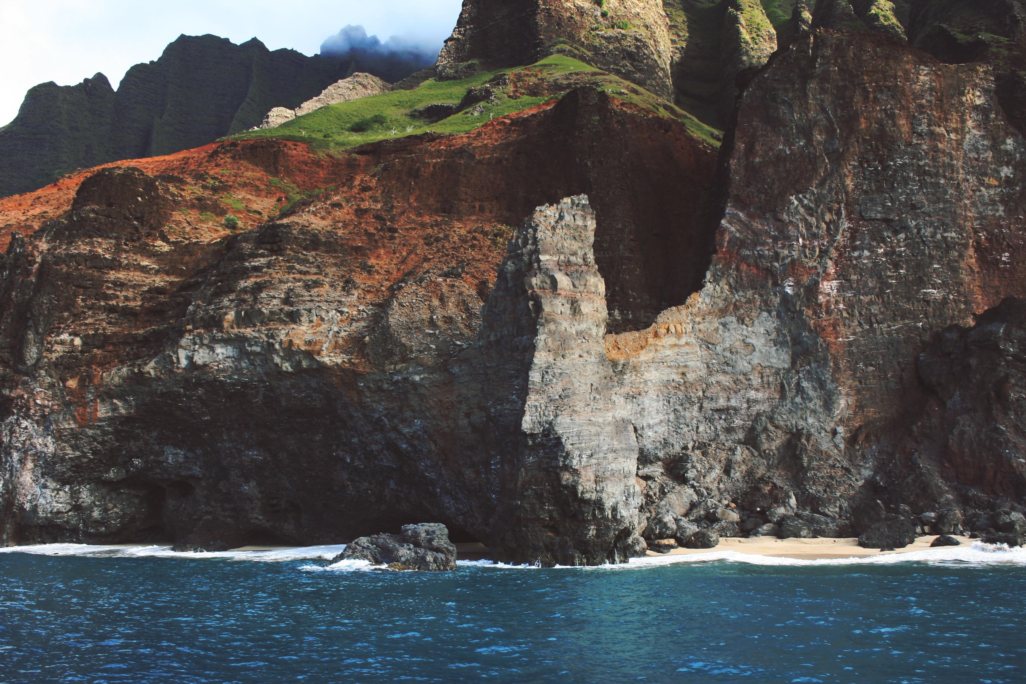 Free Images : coast, rock, ocean, coastal, formation ...