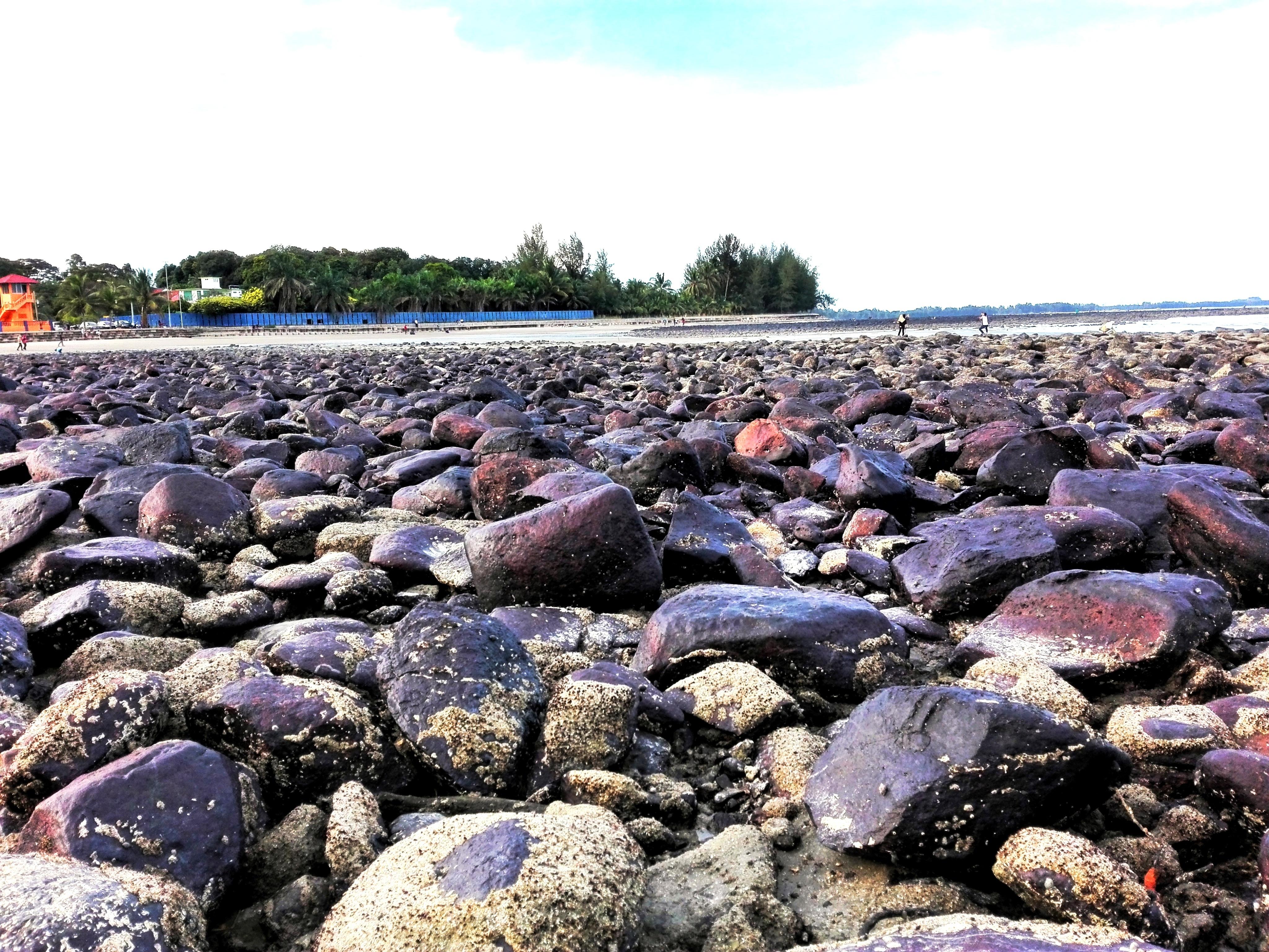 Gratis afbeeldingen zee kust rots kust kiezelsteen