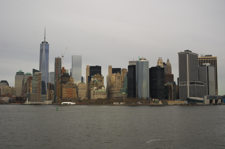 fotos gratis mar costa agua horizonte rascacielos nueva york ro manhattan nueva york paisaje urbano centro de la ciudad oscuridad