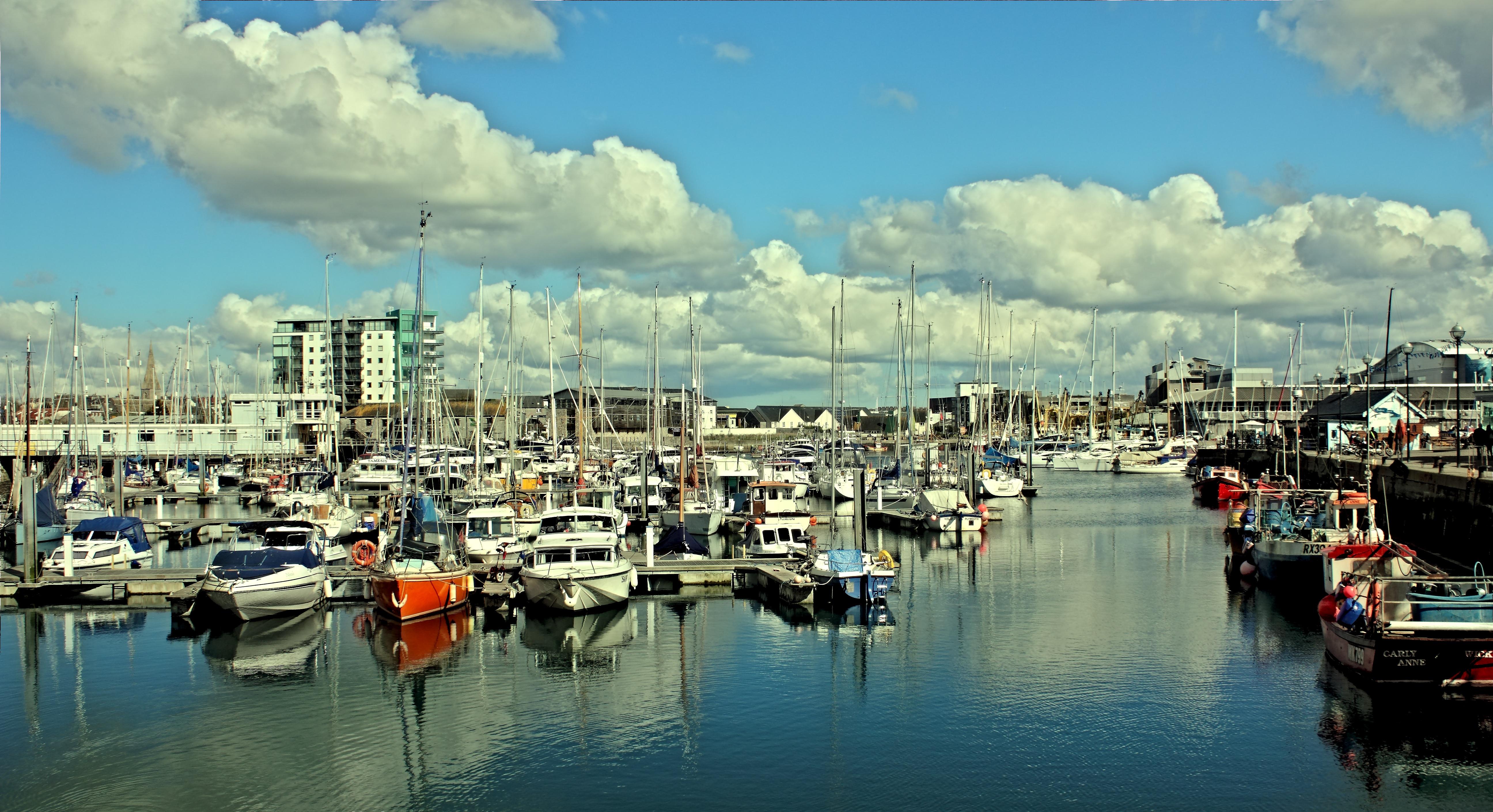 Koppla in Devon port
