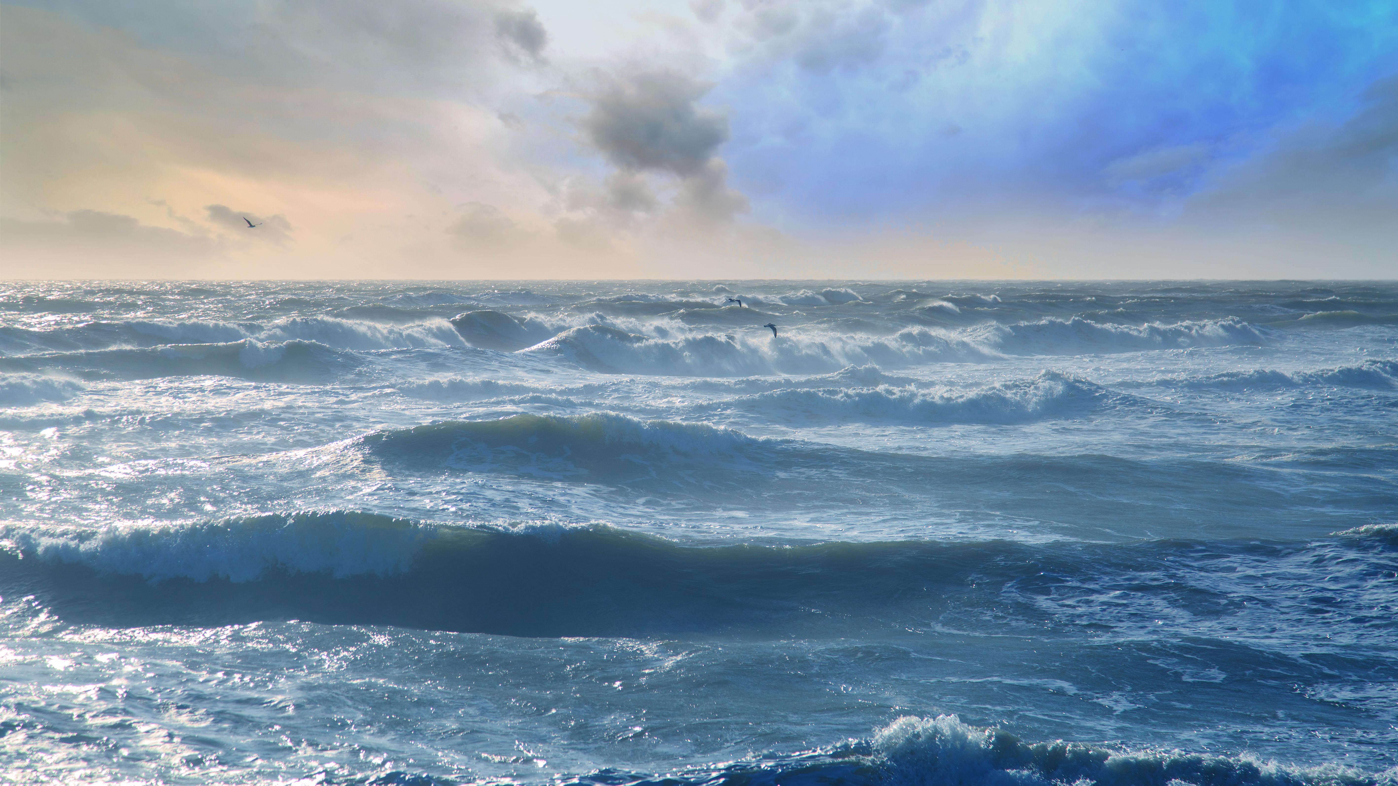 уверен волны небо картинки идет края ладони
