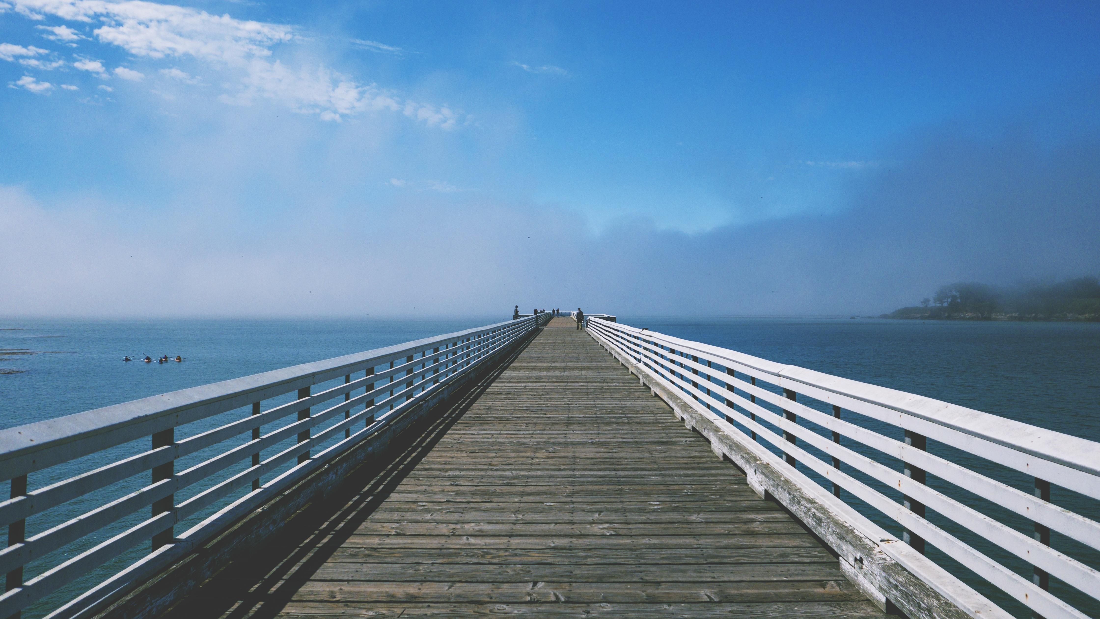 Sky Walk Boards : Free images sea coast water ocean horizon dock sky