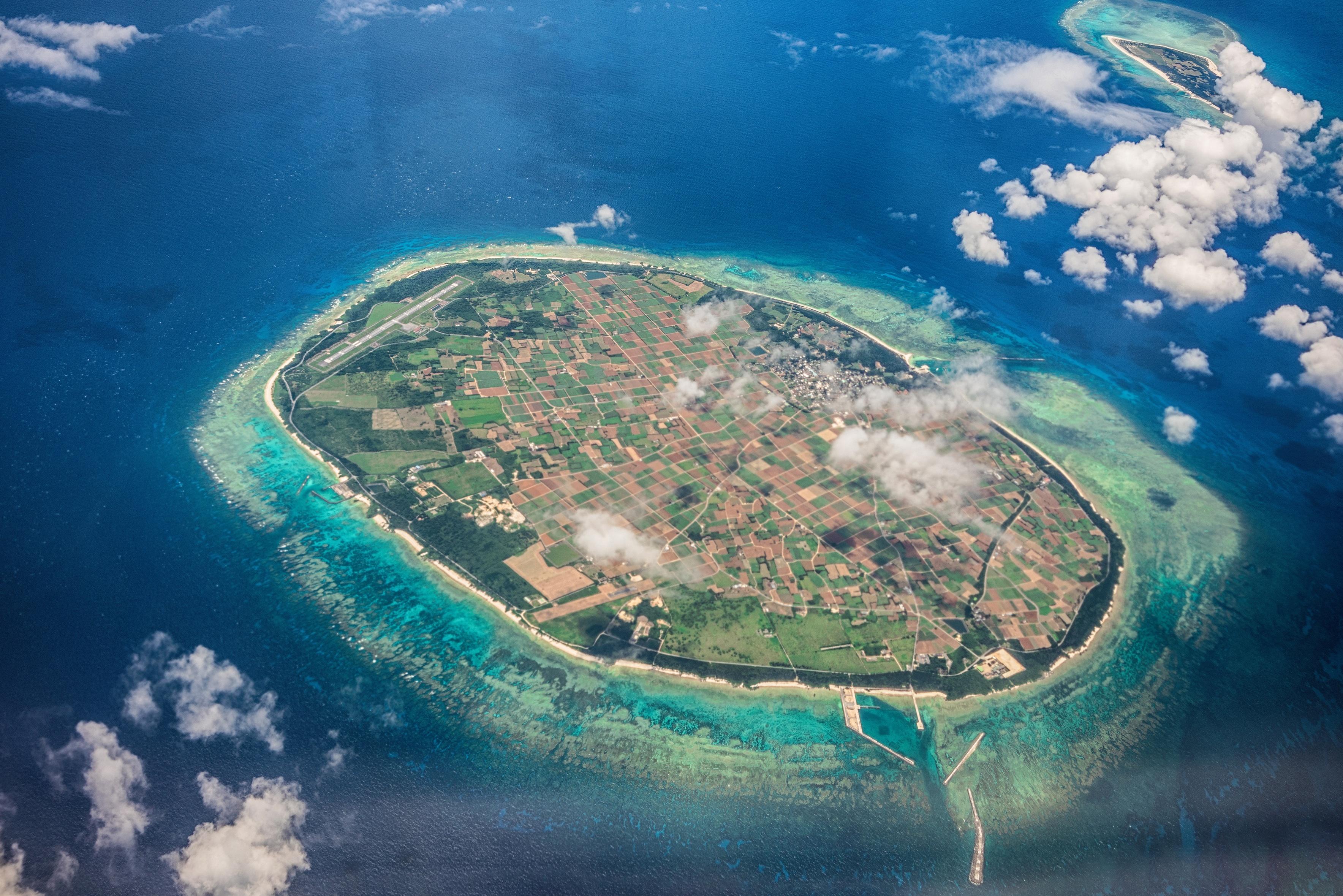 острова в картинках с высоты выхода
