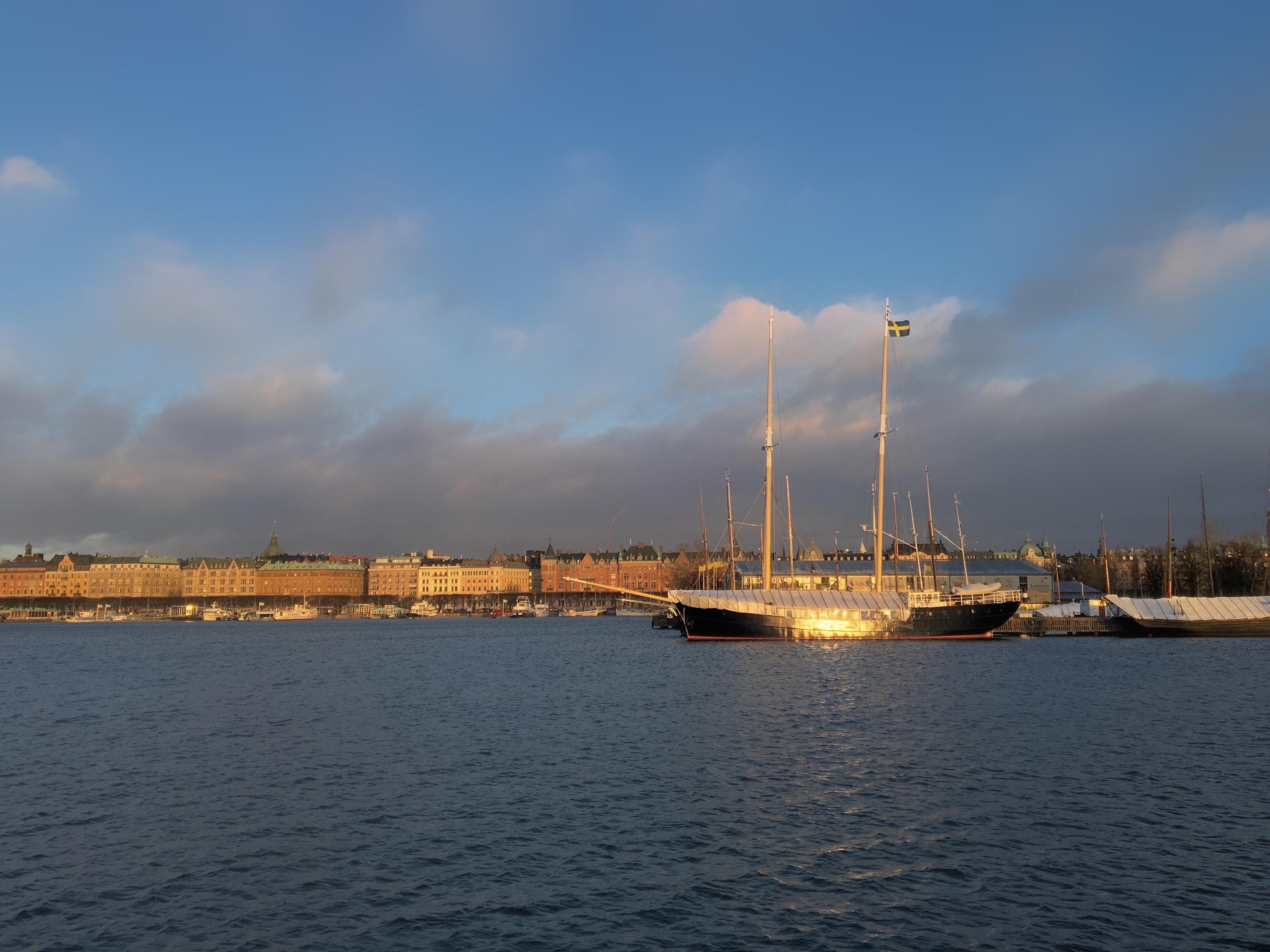 Segelschiffe auf dem meer sonnenuntergang  Kostenlose foto : Meer, Horizont, Dock, Wolke, Sonnenuntergang ...