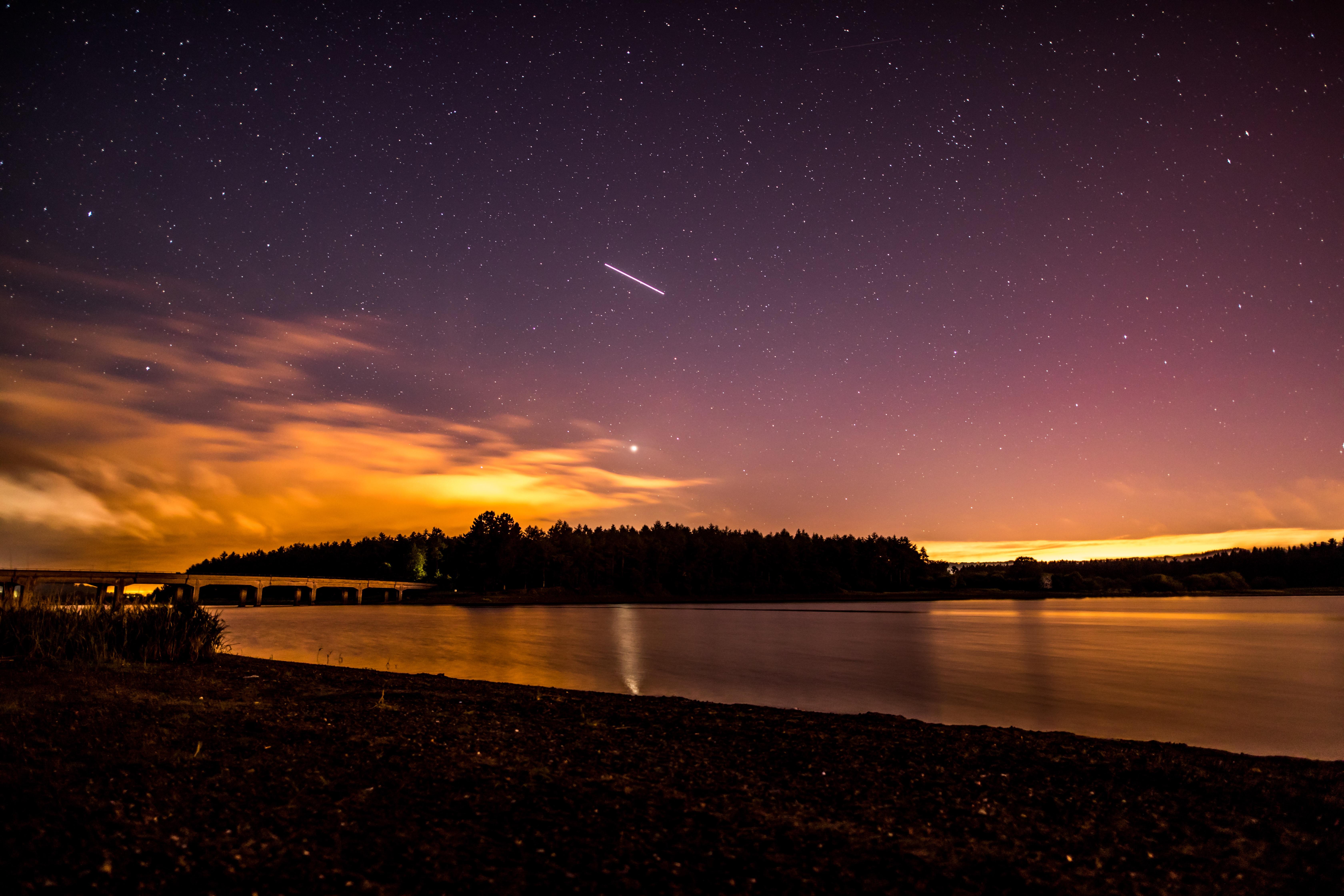 Картинки рассвет закат звездное небо