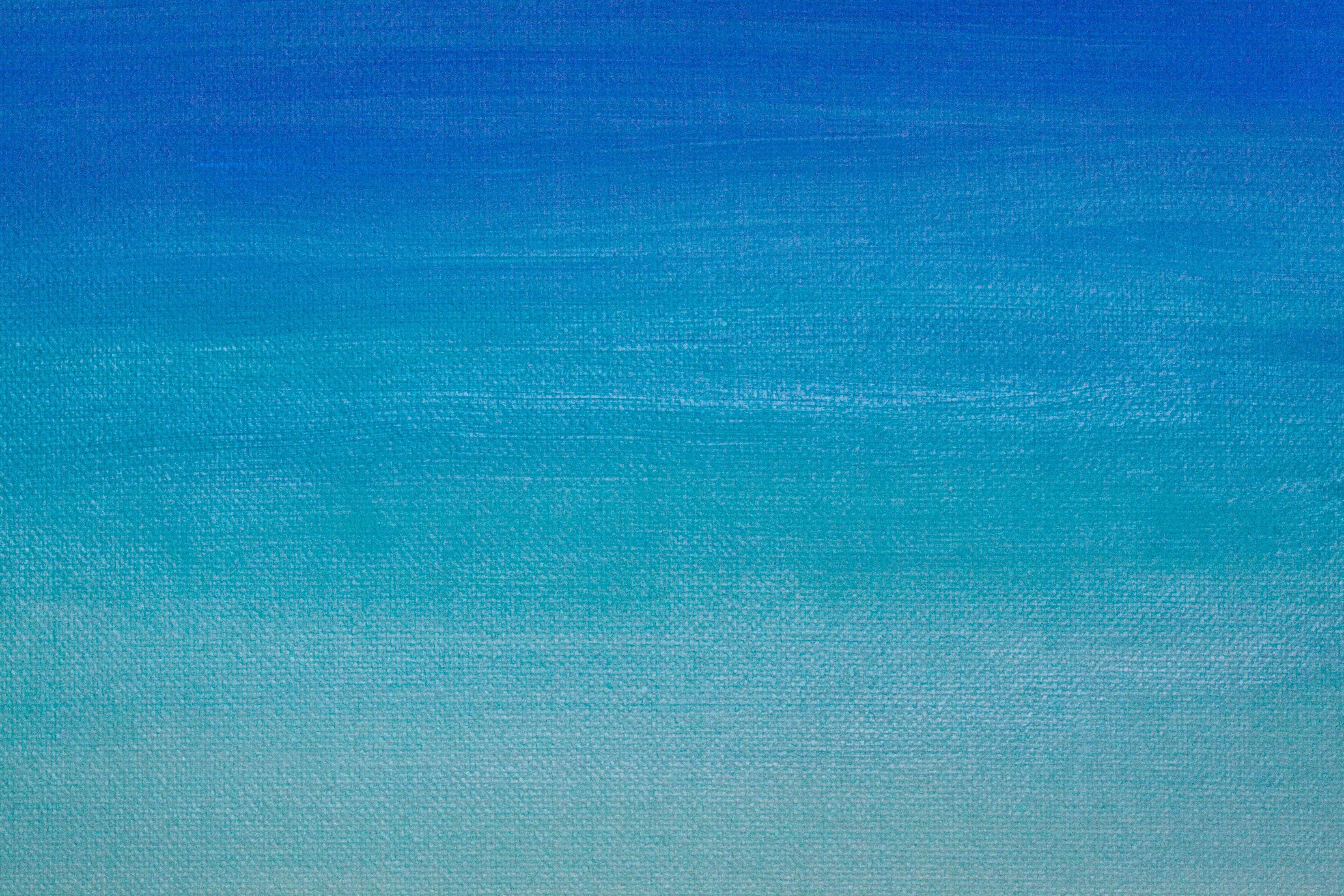 Free images sea horizon sky texture atmosphere line - Pintura azul turquesa ...