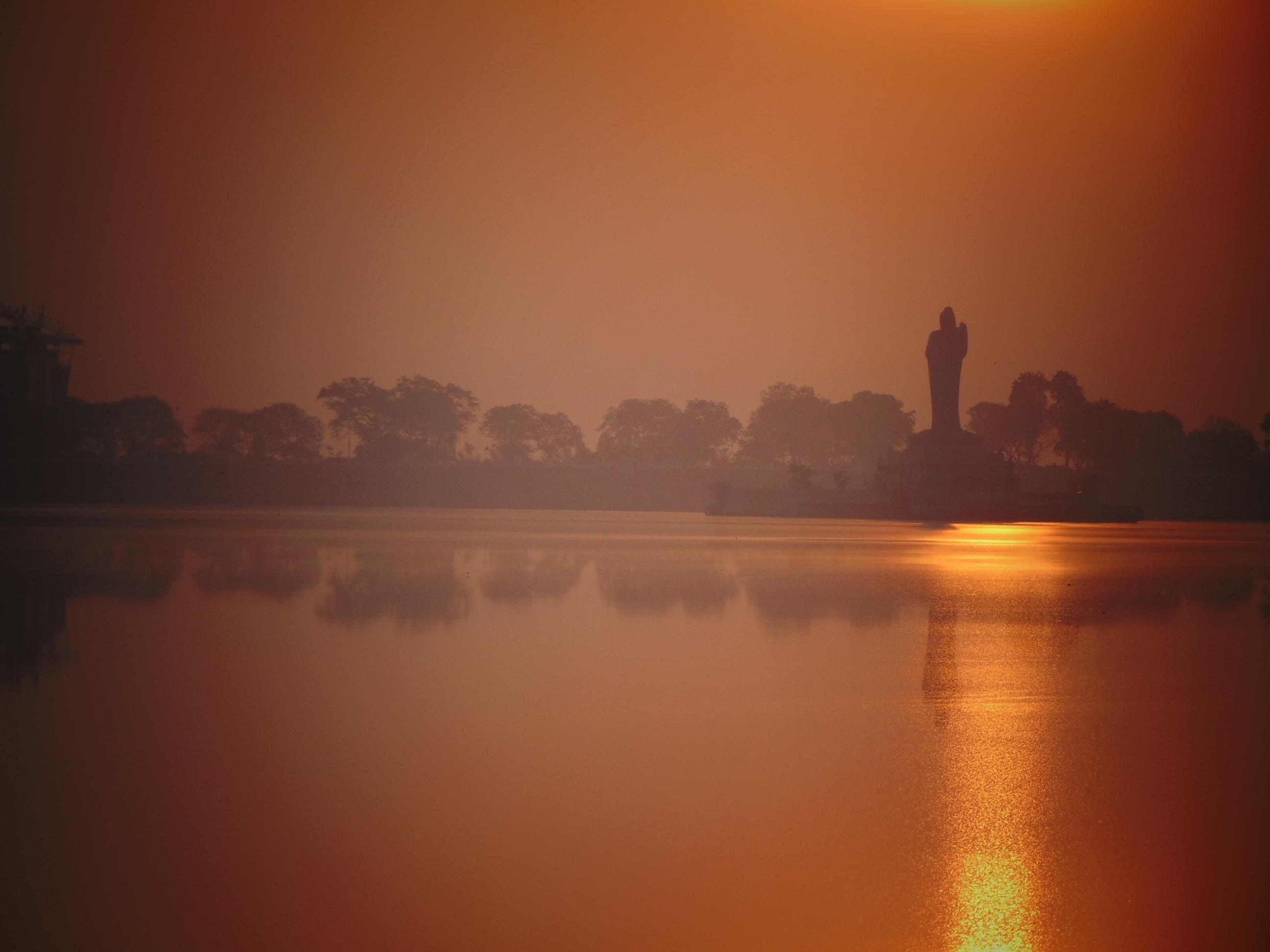 Preferenza Immagini Belle : mare, orizzonte, Alba, tramonto, nebbia, luce del  WG06