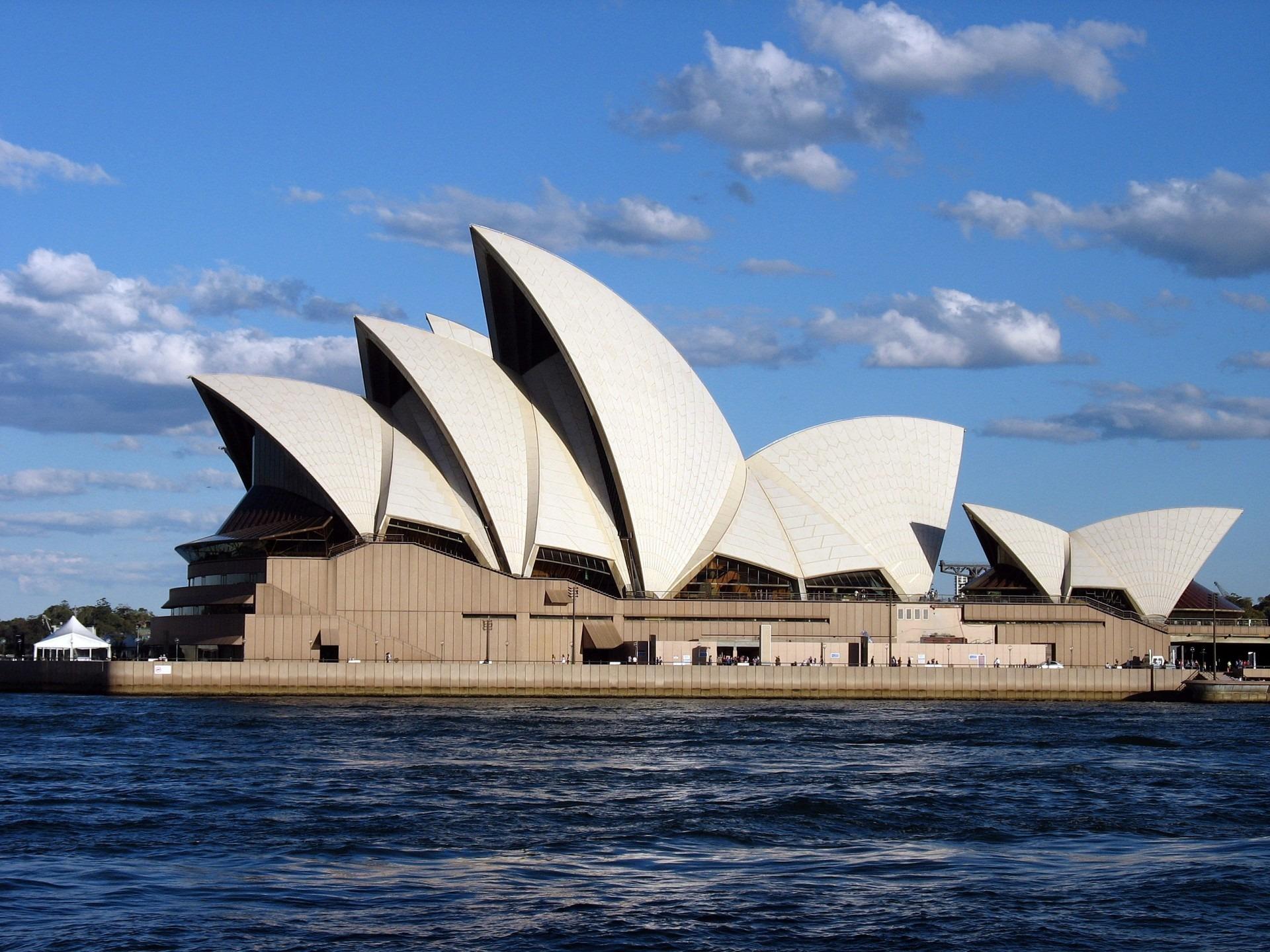 Sea Ocean Architecture Sky House Wind Building Travel Sydney Opera Landmark Harbor Harbour Sightseeing