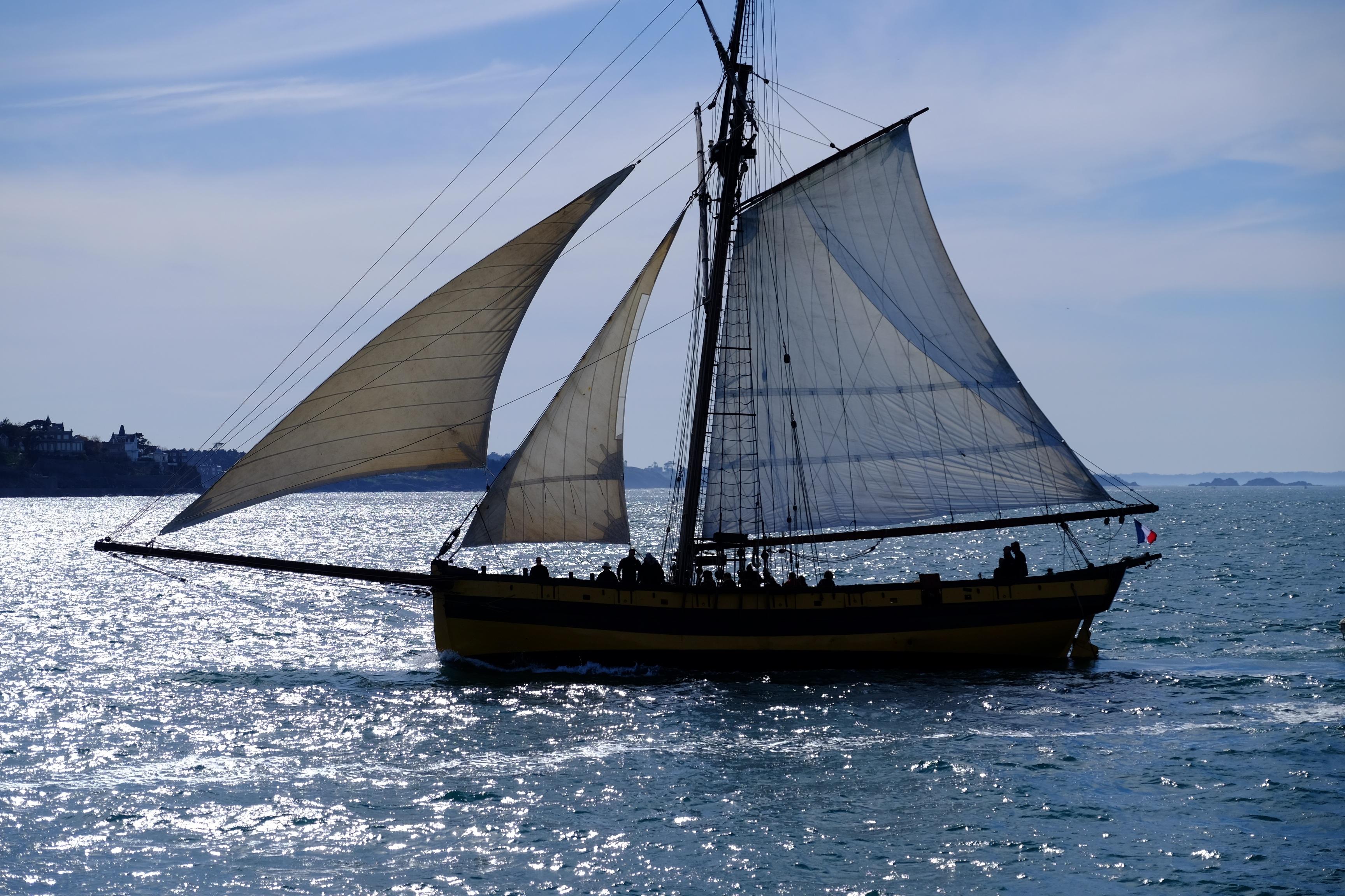 Images Gratuites : mer, océan, France, véhicule, mât ...