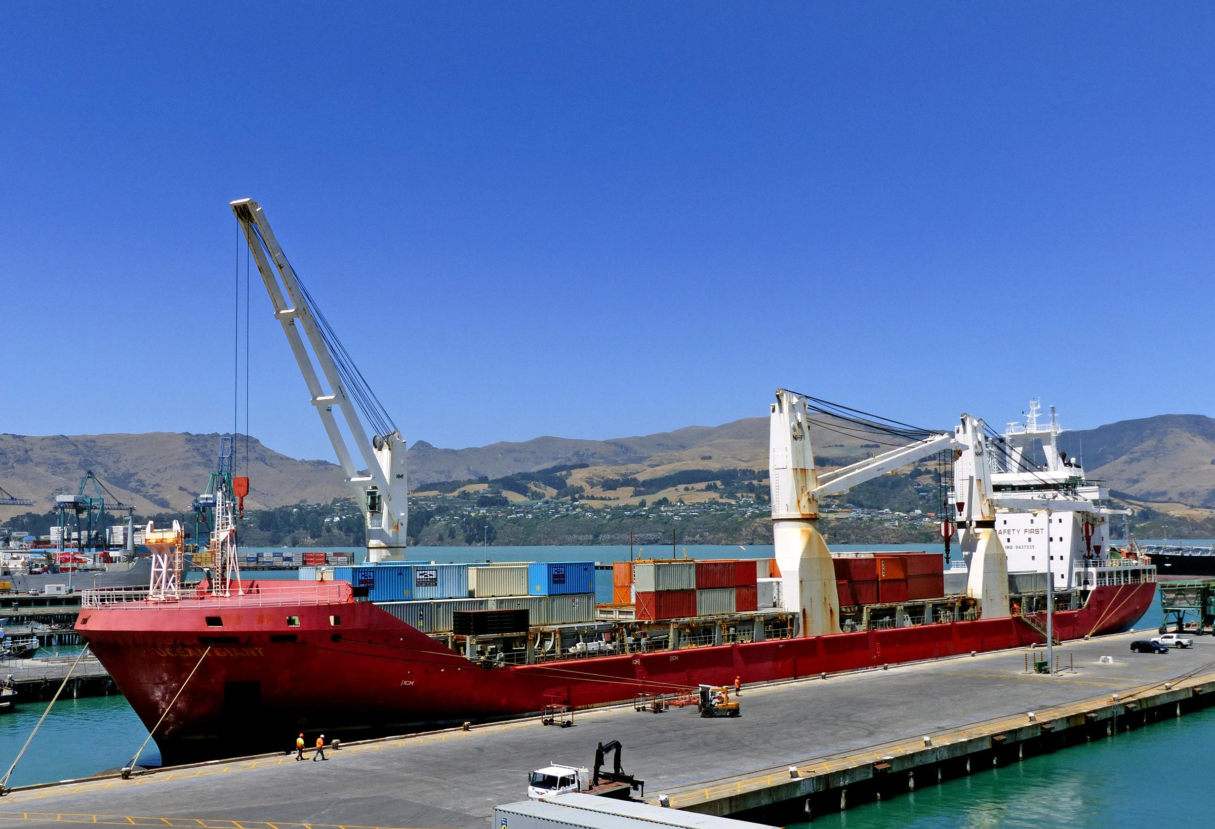 Gambar Laut Lautan Perahu Kendaraan Pelabuhan Kapal Kargo Jalan Air Feri Area Publik Infrastruktur Muatan Saluran Pengiriman Portlyttleton