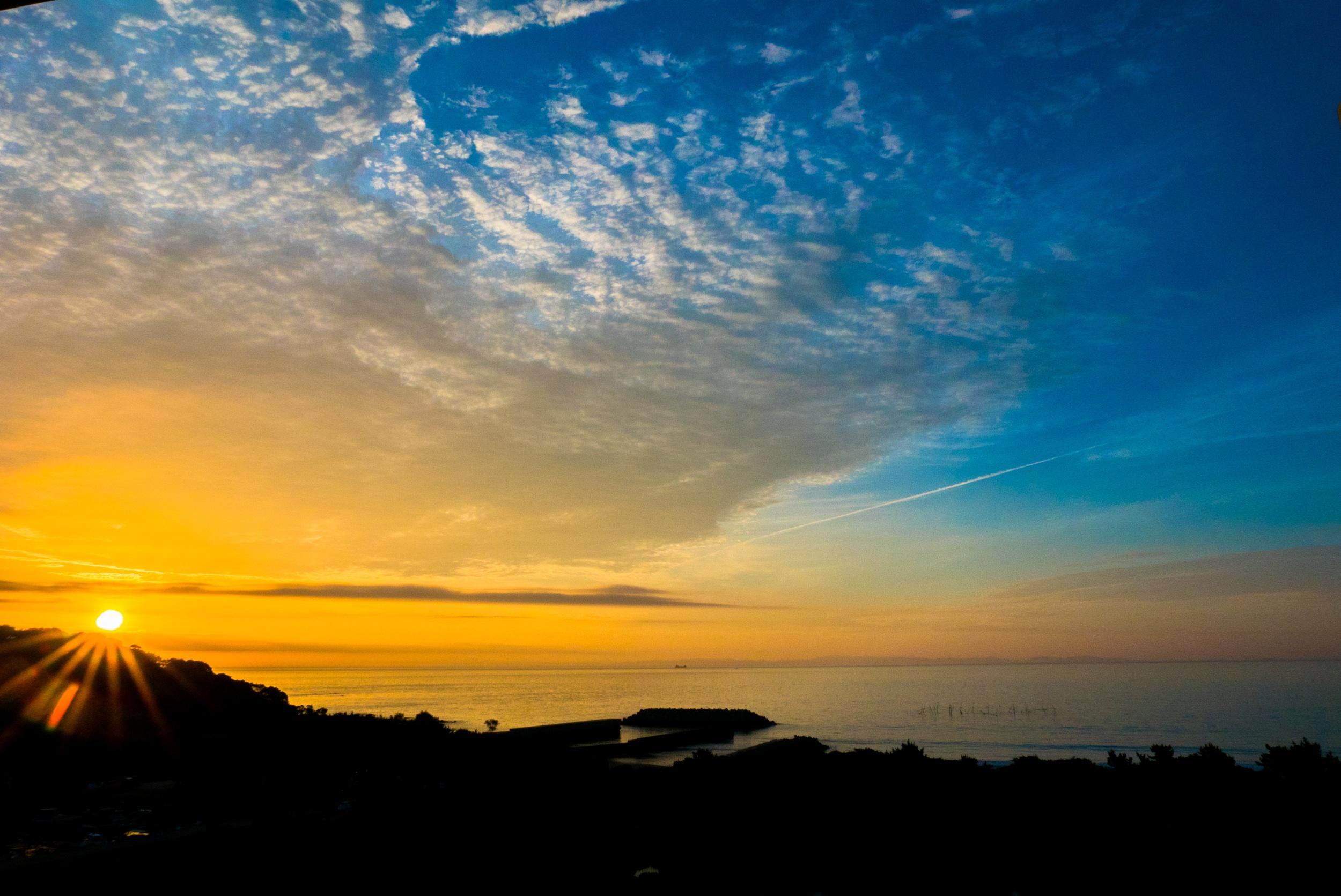 Закат солнца фото картинки