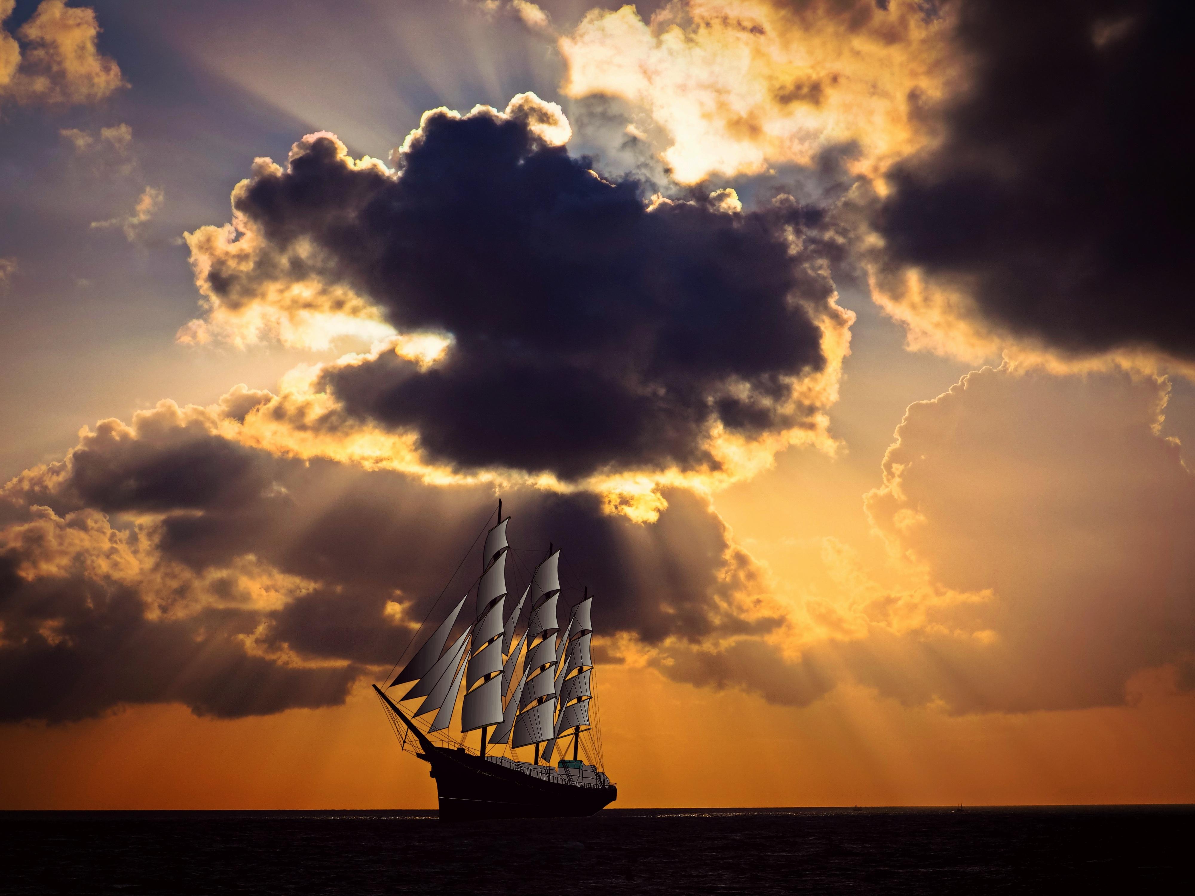 корабли в небе картинки встретить мужчину