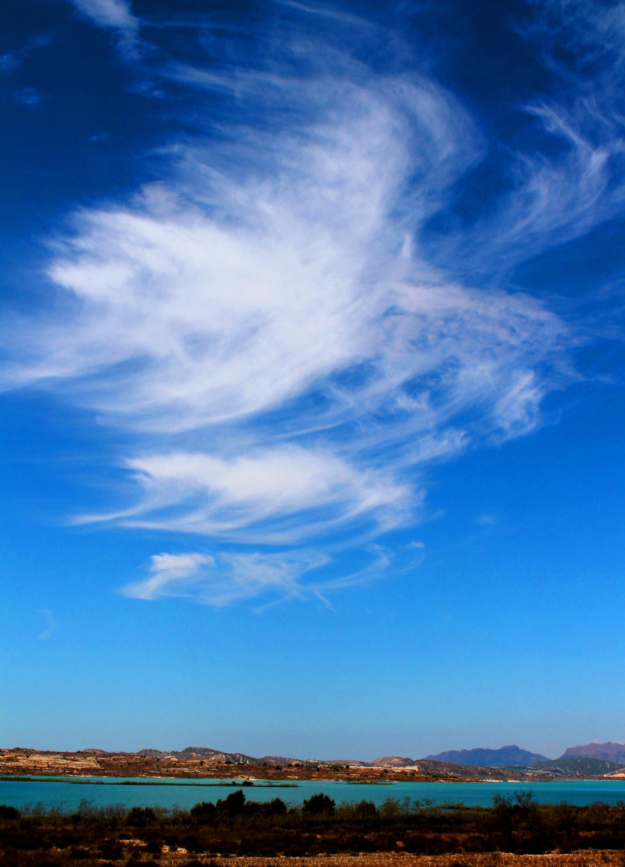 фото красивое облачное небо самые