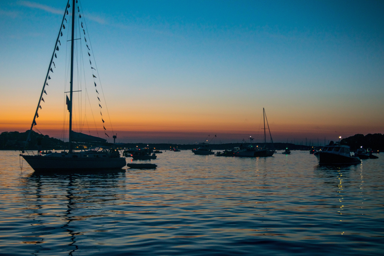 Images gratuites mer oc an horizon dock le coucher - Photo de voilier gratuite ...