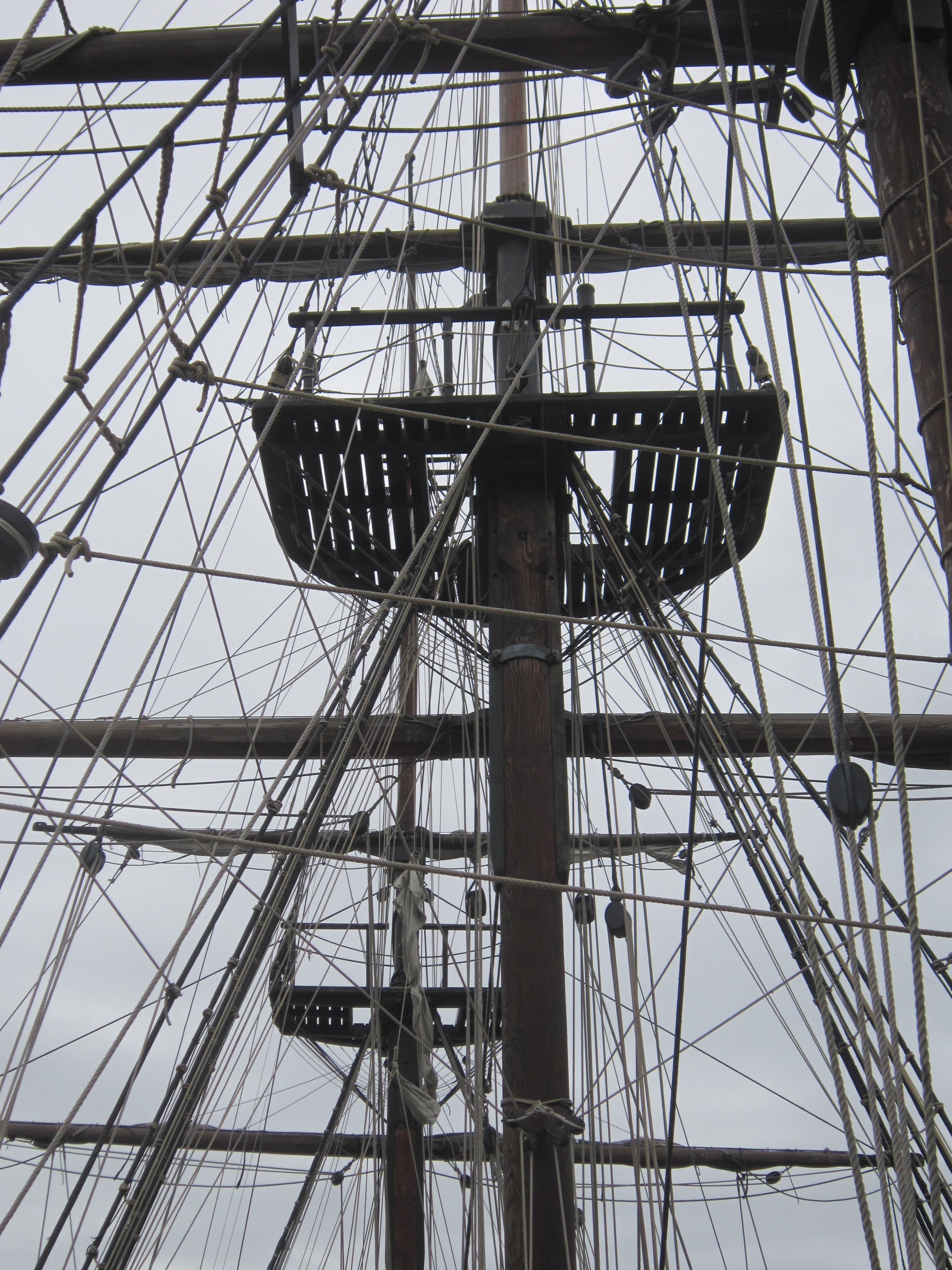 Images gratuites mer corde bateau pont v hicule la - Photo de voilier gratuite ...