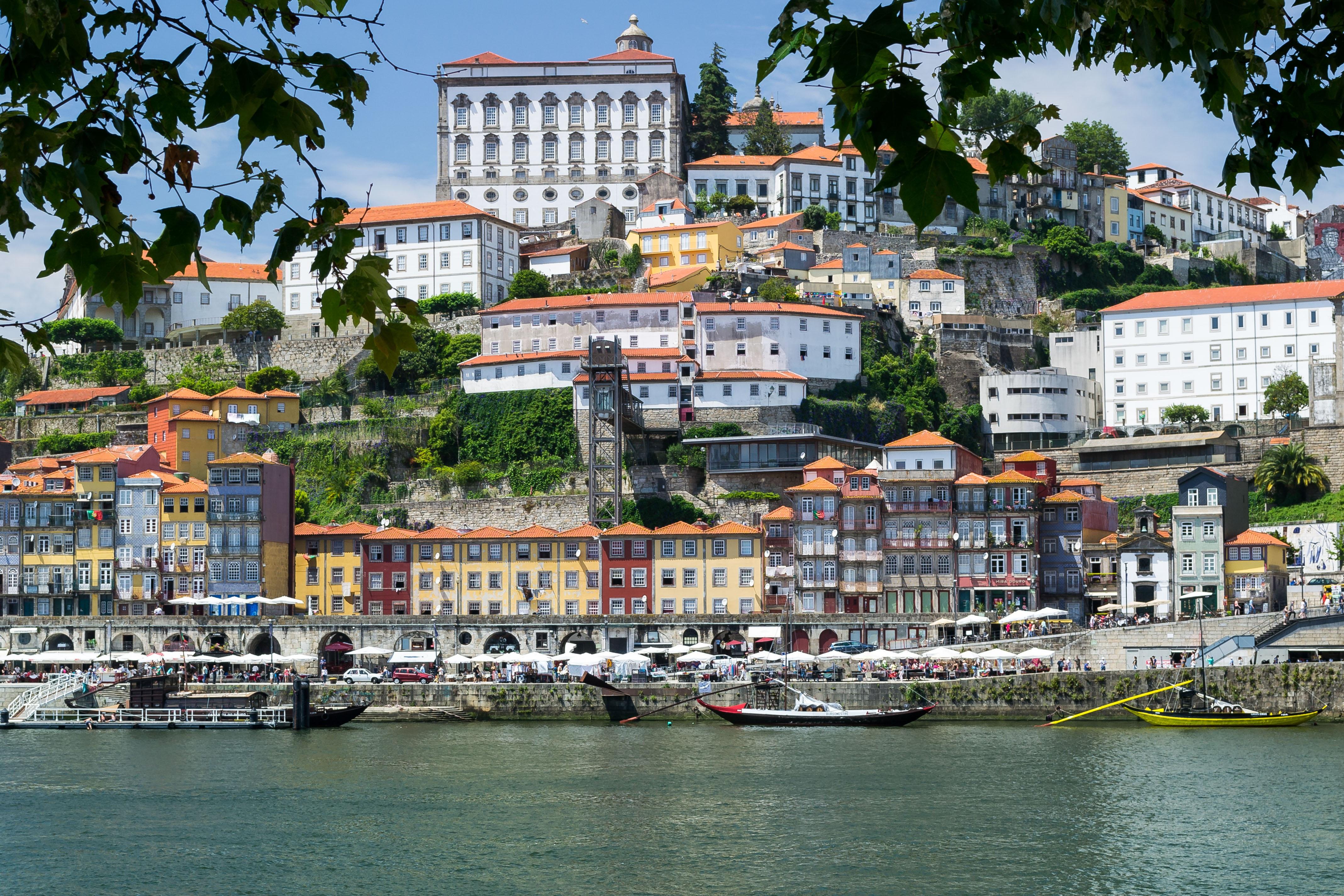 Fluss In Portugal kostenlose foto meer stadtbild ferien fahrzeug hafen
