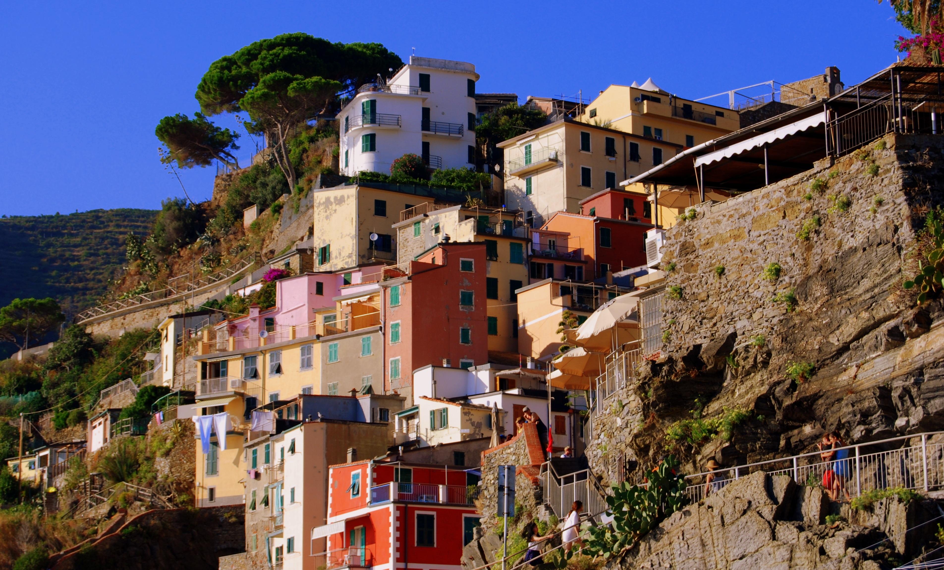 Häuser Italien kostenlose foto meer stadt stadtbild ferien reise dorf