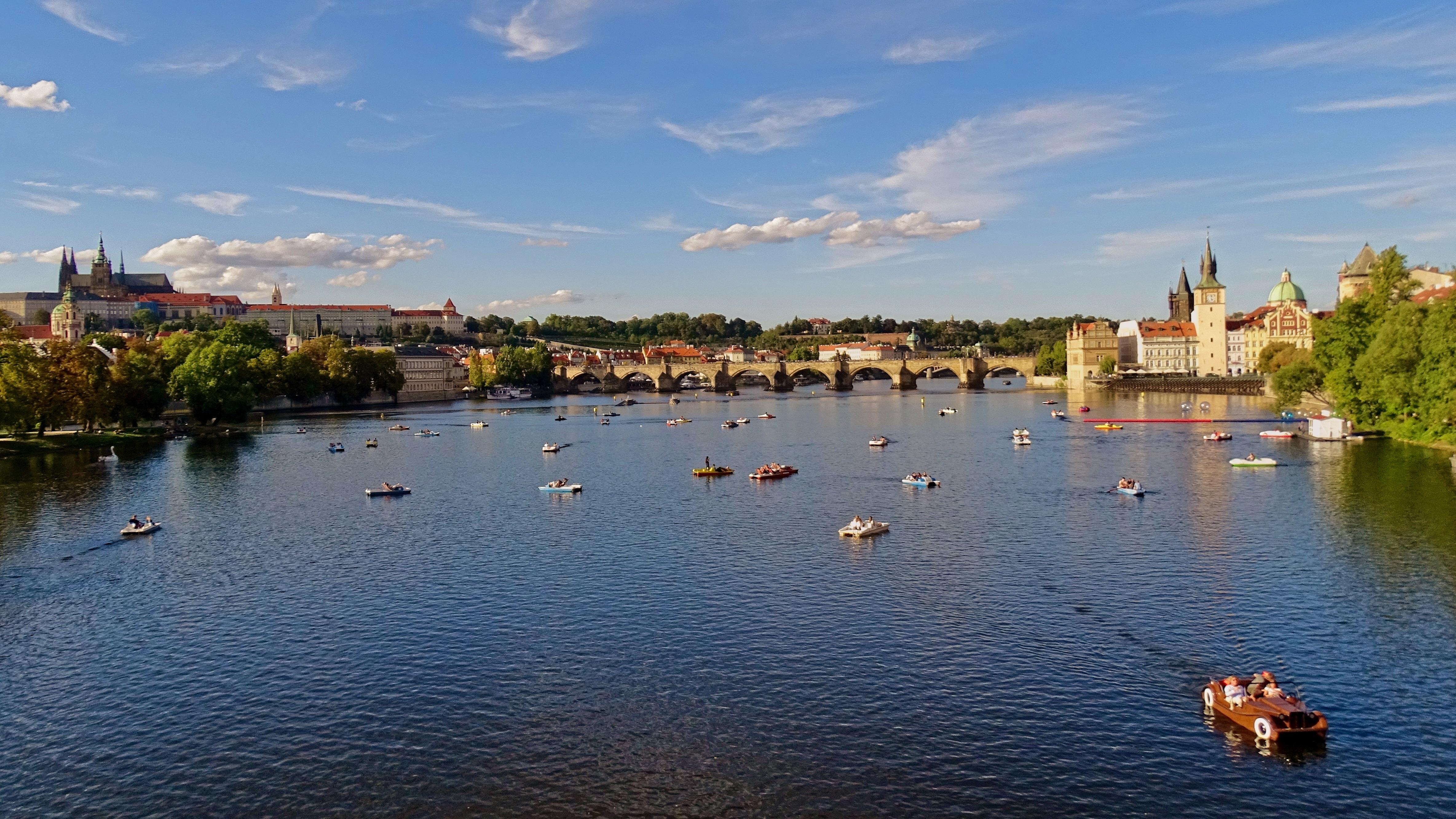 Free Images : sea, architecture, lake, river, panorama ...