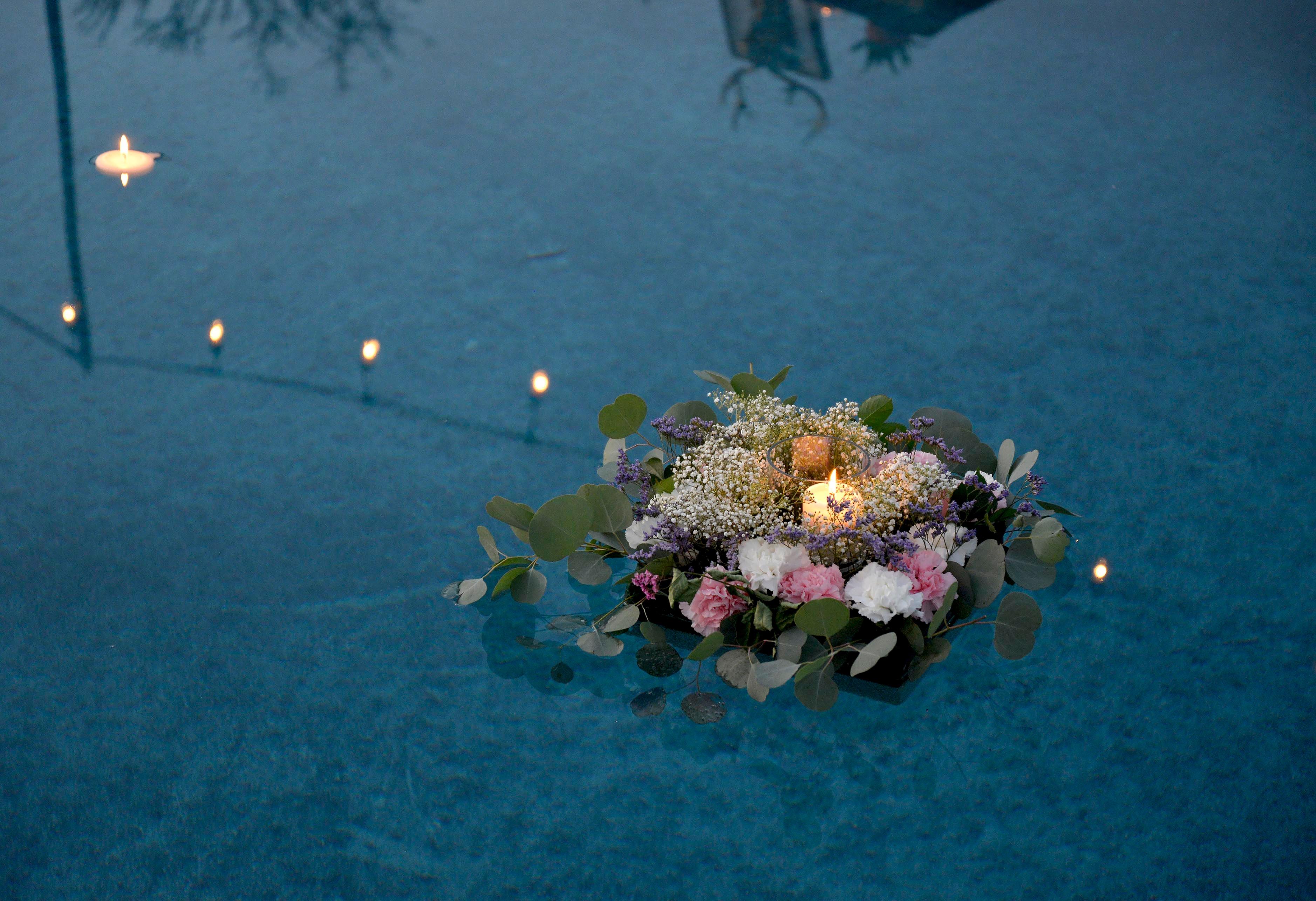 тесто цветы под водой фото друг