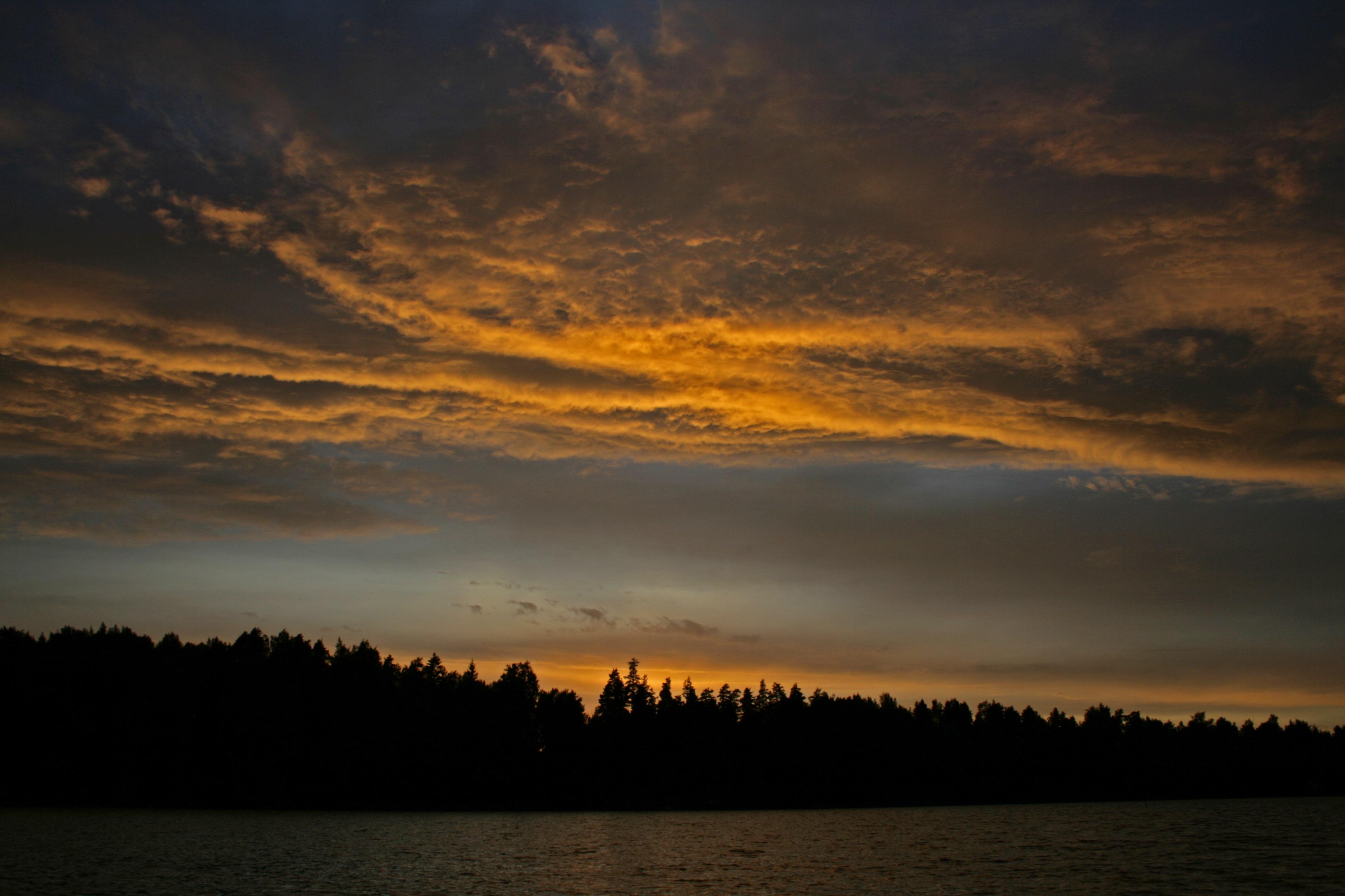 Free Images : sea, water, nature, horizon, light, cloud ...