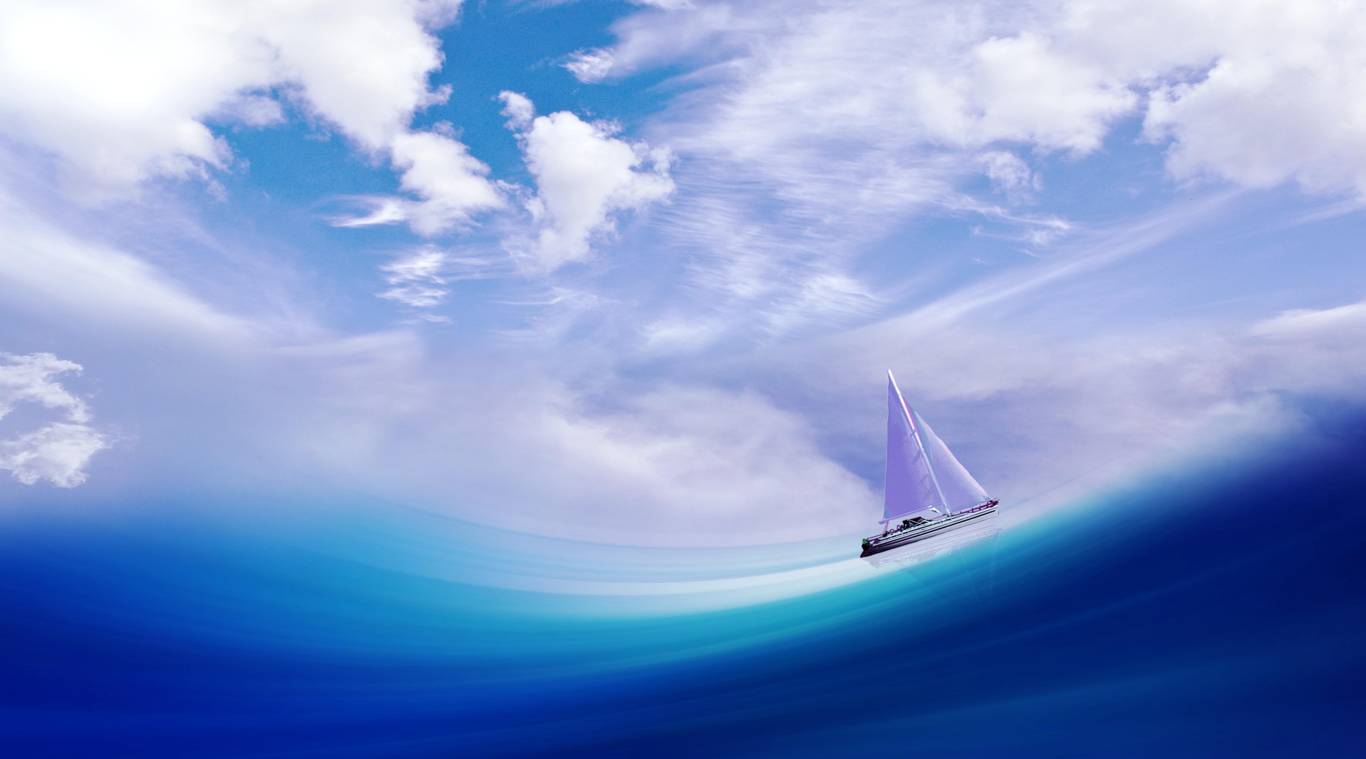 Обои лодка, бутылка, судно, настроения, Вода, корабль. Настроения foto 12