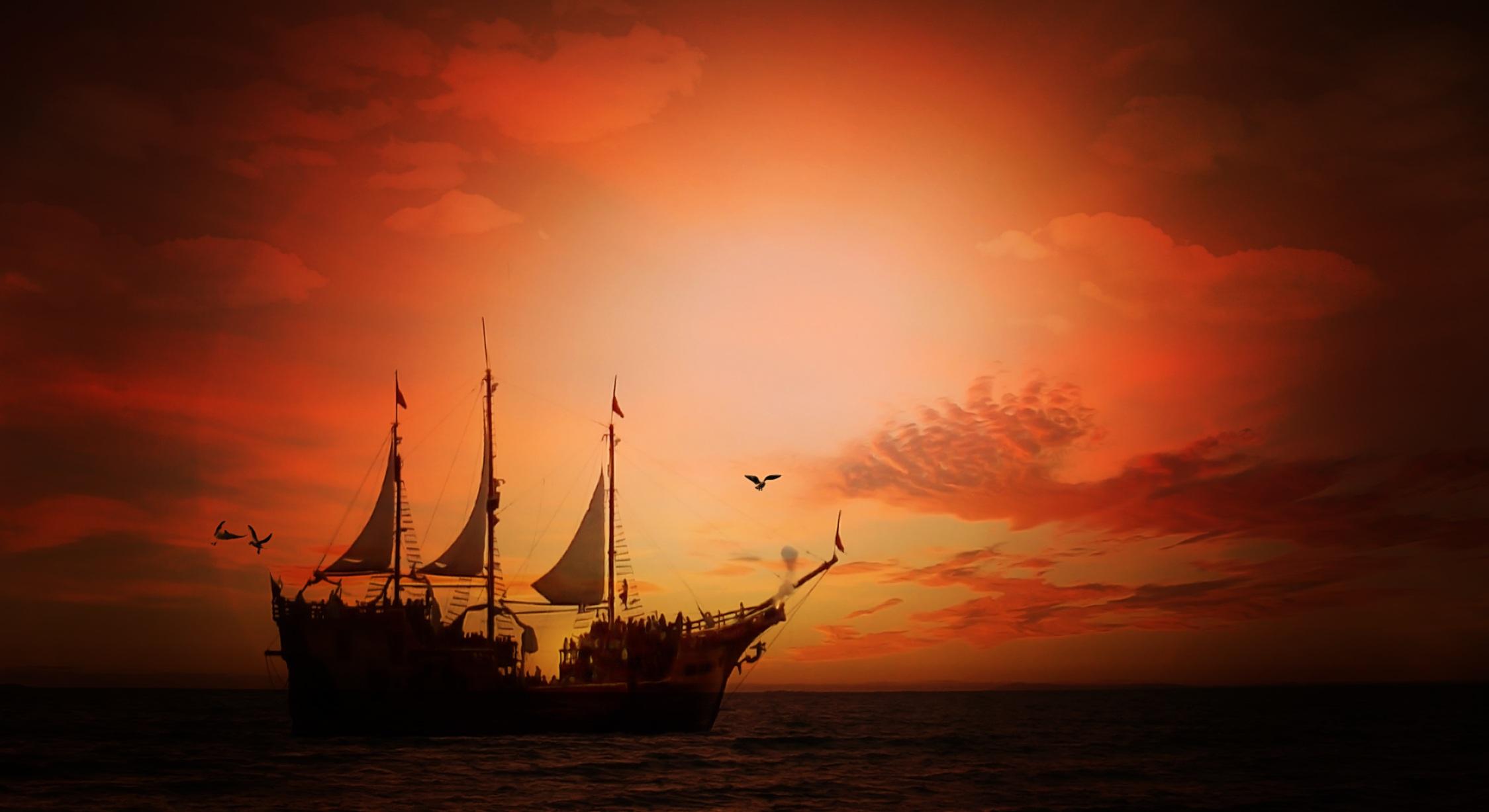Images gratuites mer eau oc an horizon nuage ciel - Photo de voilier gratuite ...