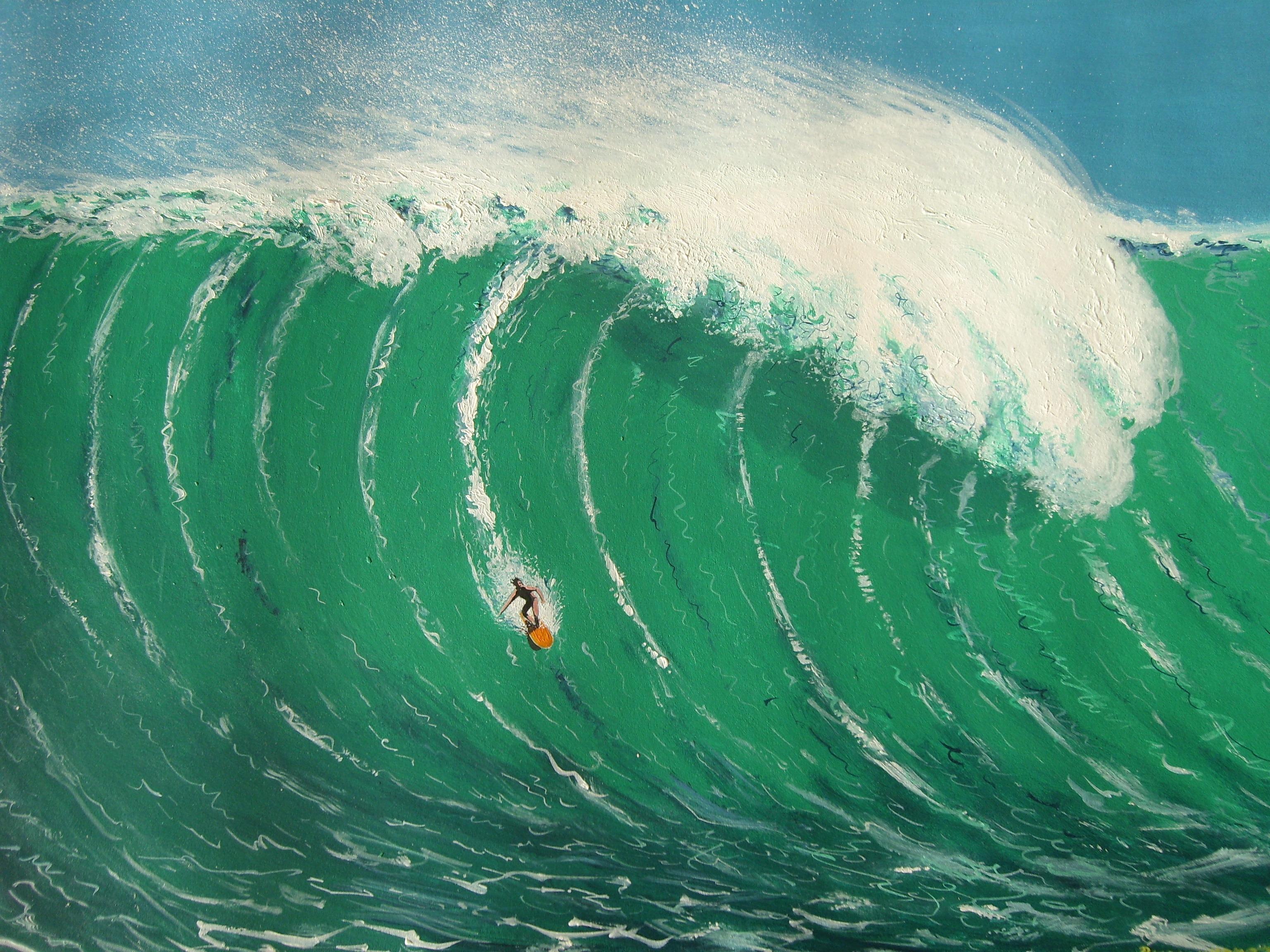 Acrylic Beach Paintings For Beginners