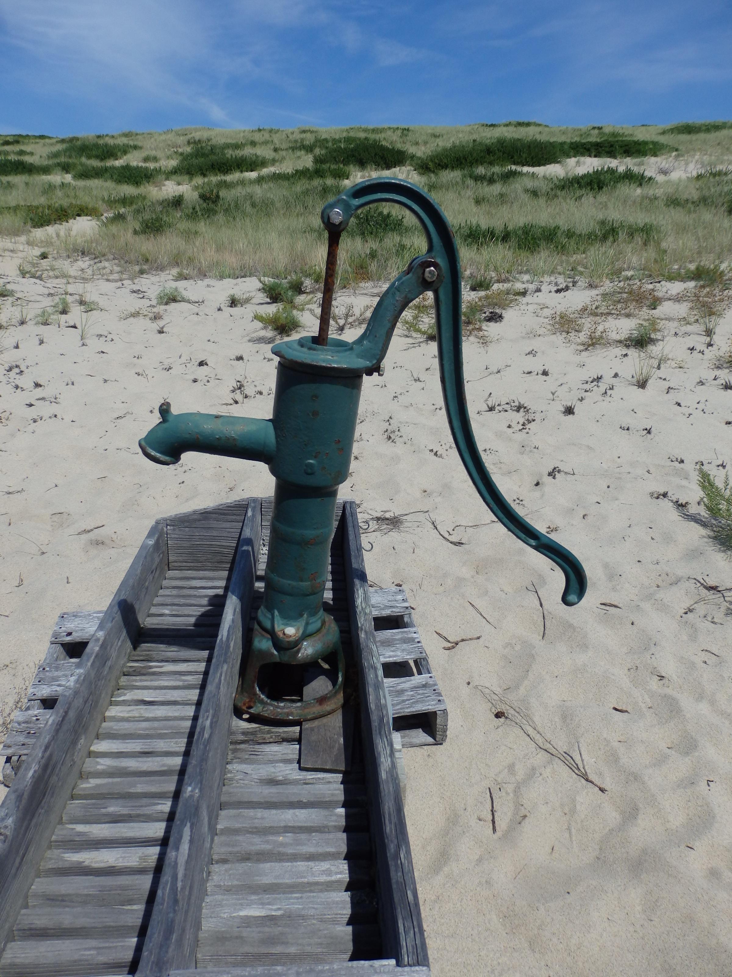 sea water sand vintage desert wind old rustic walkway material pump dunes well drought corrosion plumbing & Free Images : sea sand vintage desert wind old rustic walkway ...
