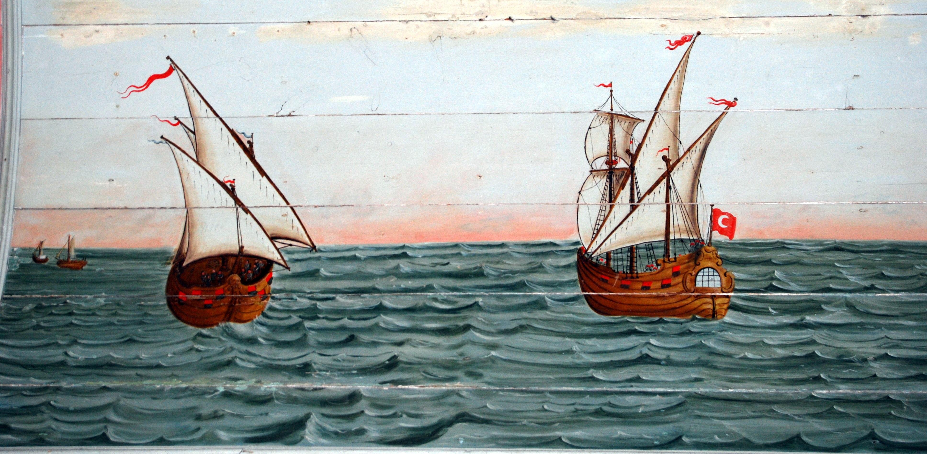 Fotoğraf Deniz Ahşap Tekne Yansıma Kırmızı Araç Direk Renk