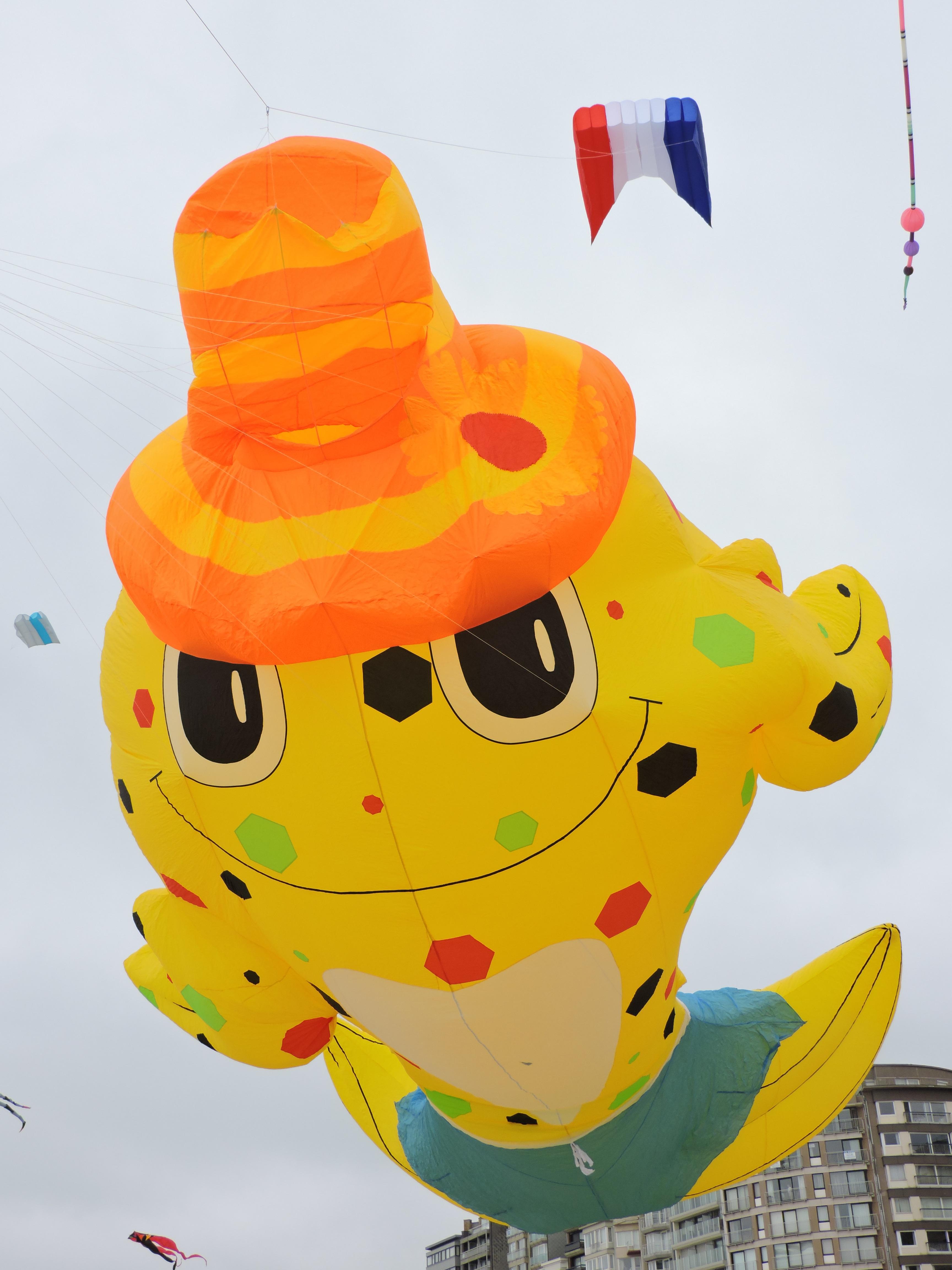 Gambar Laut Kuning Mainan Seni Festival Ilustrasi Ballon