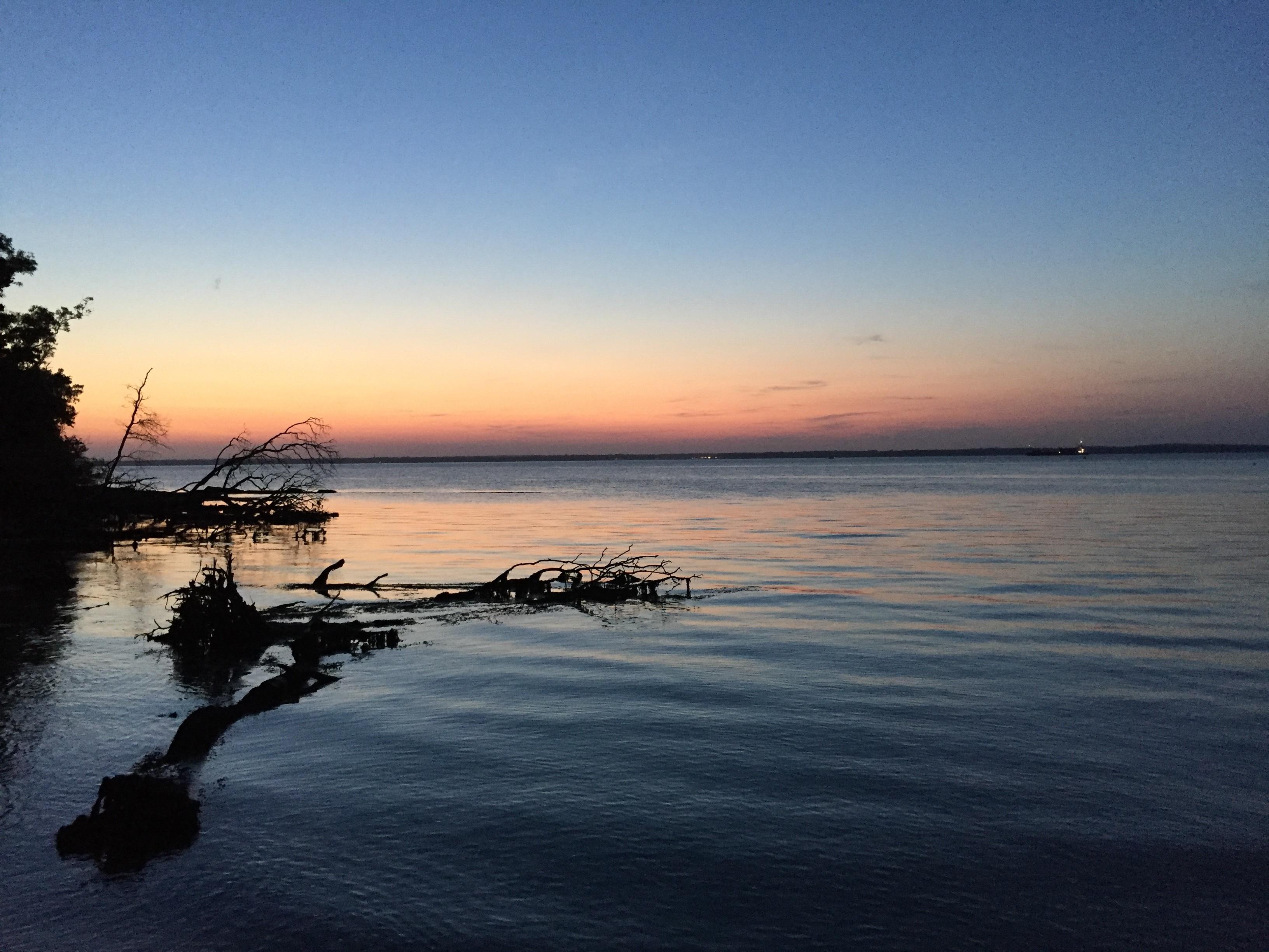 Gambar Pemandangan Laut Senja Tenang 3264x2448 1372039