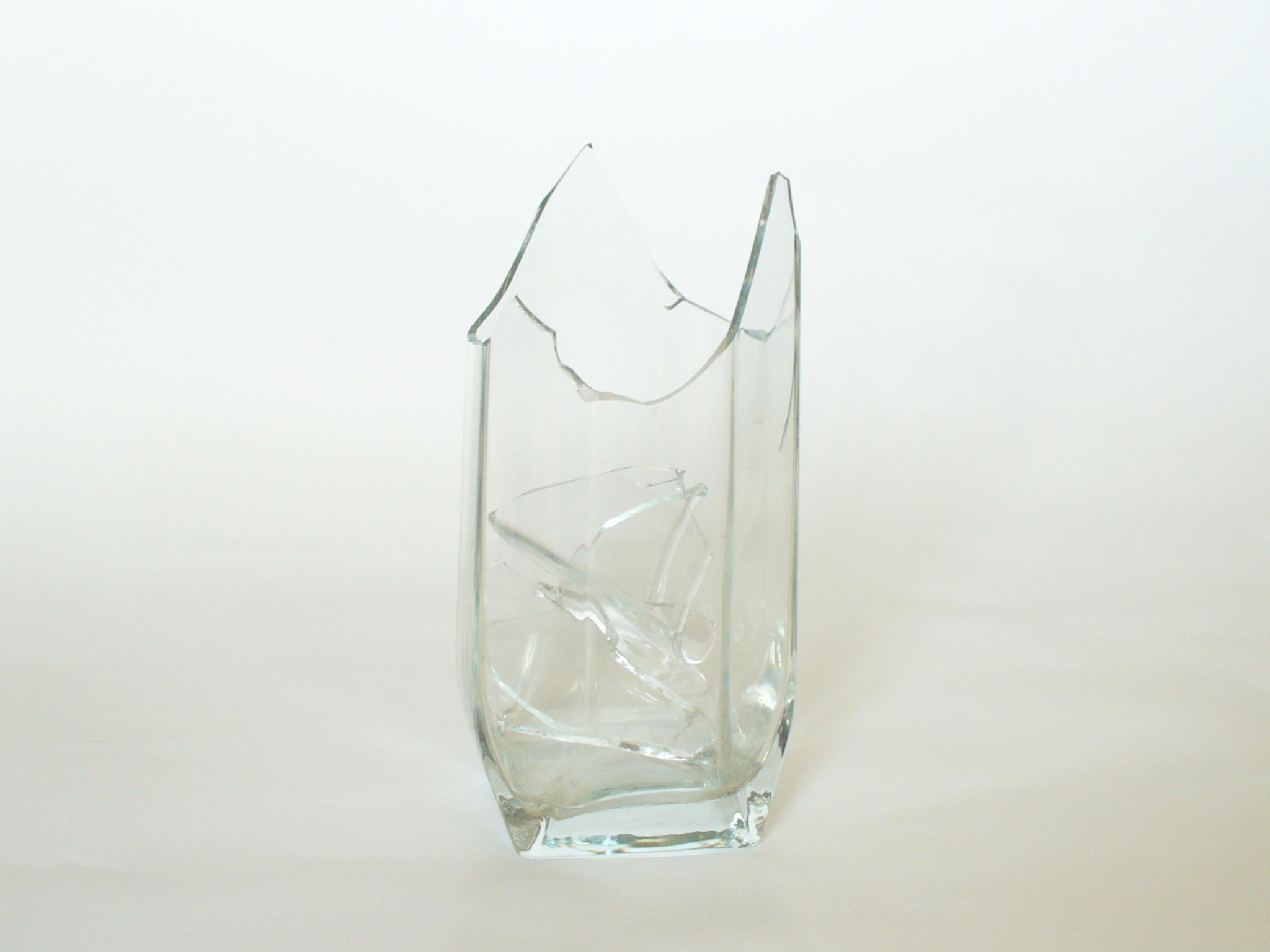 sharp glass vase broken bottle lighting tableware material glass bottle product jewellery broken glass crystal fragile - Broken Glass Vase