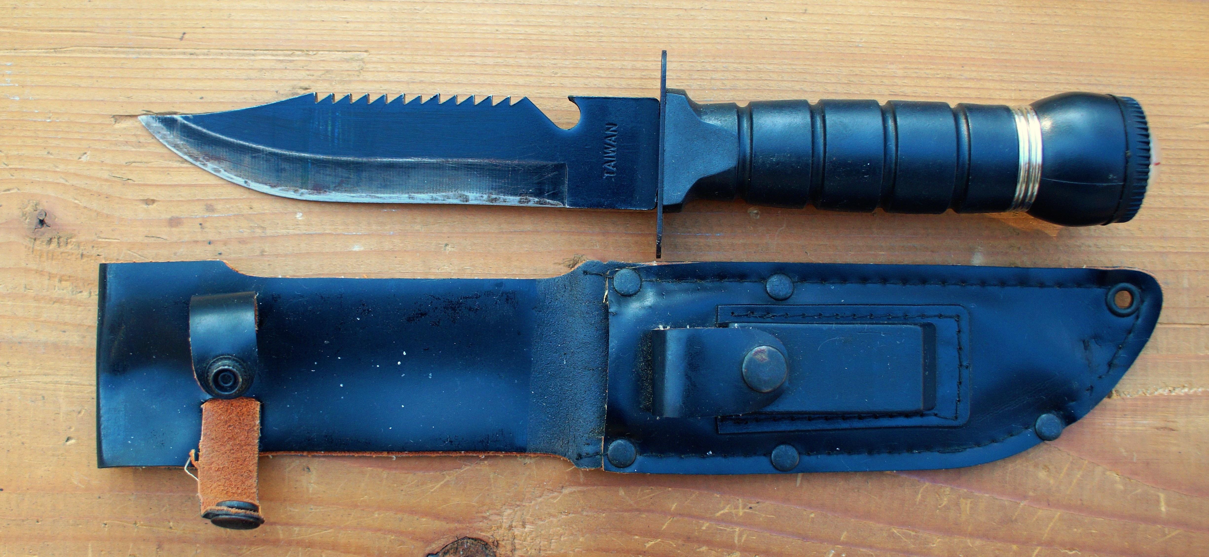 Kostenlose Foto Scharf Werkzeug Ausrustung Blau Camping Waffe