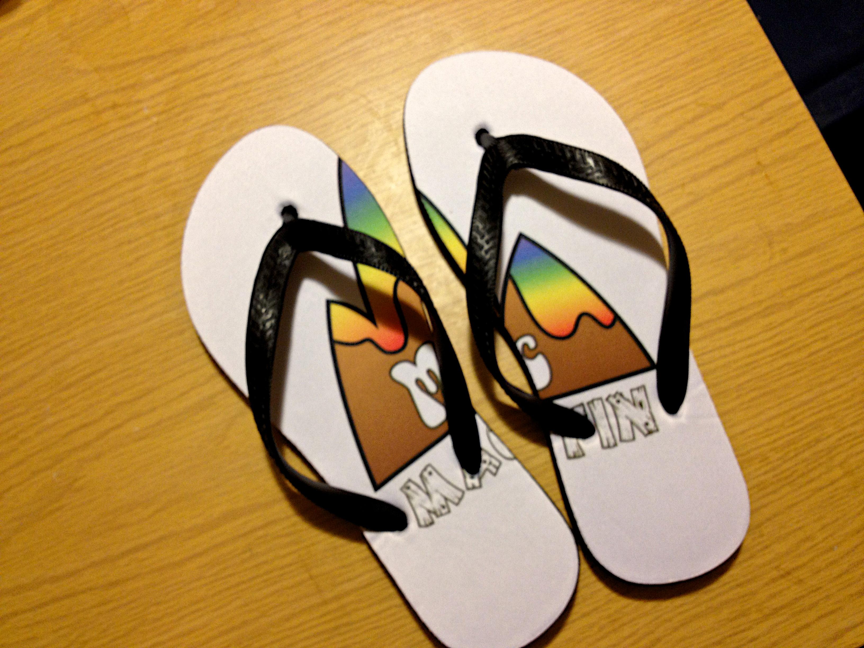 Giày nghệ thuật Bản vẽ giày dép Ds106 Chim bay