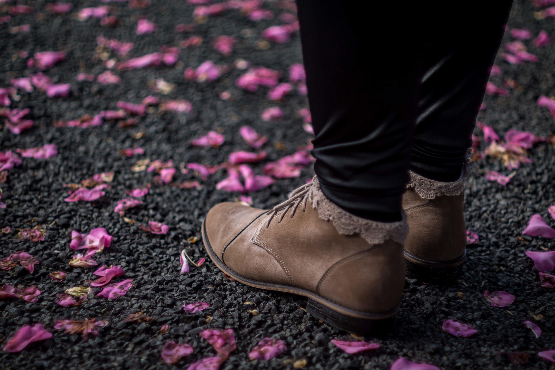 Ботинки на ногах картинка